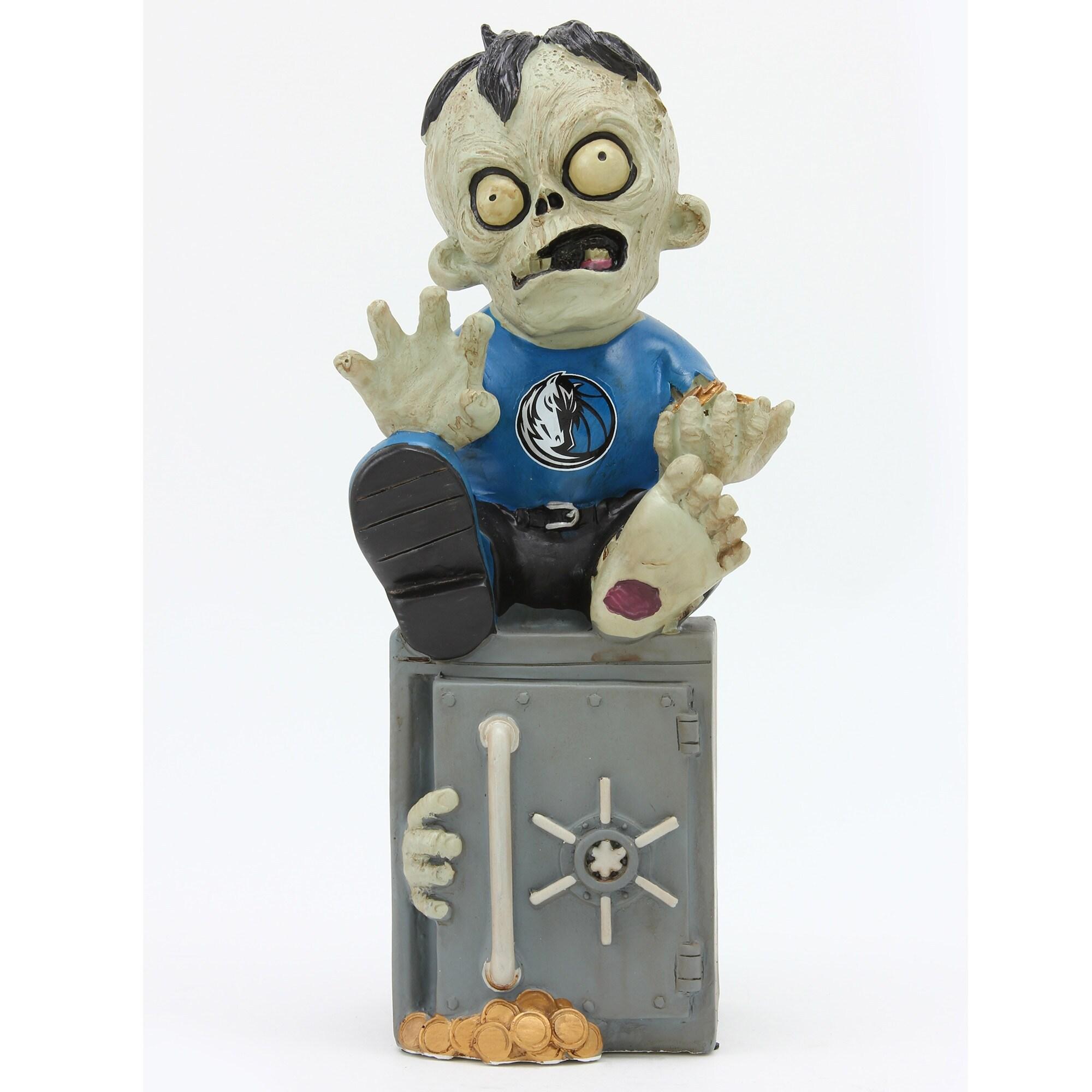 Dallas Mavericks Resin Zombie Bank