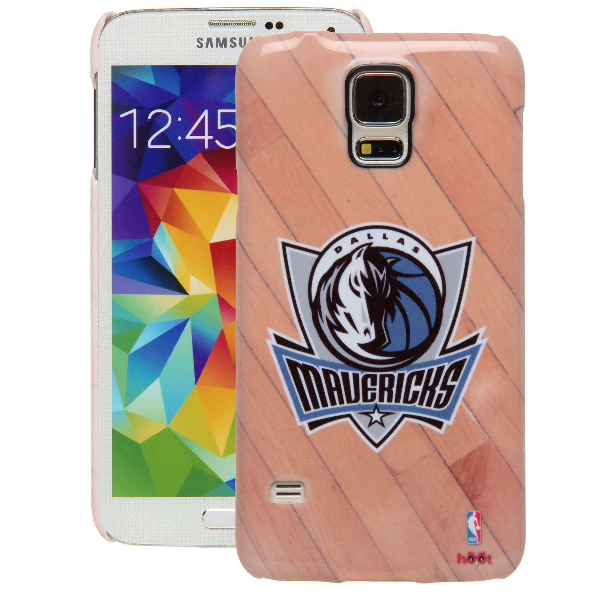 Dallas Mavericks Galaxy S5 Hardwood Court Case