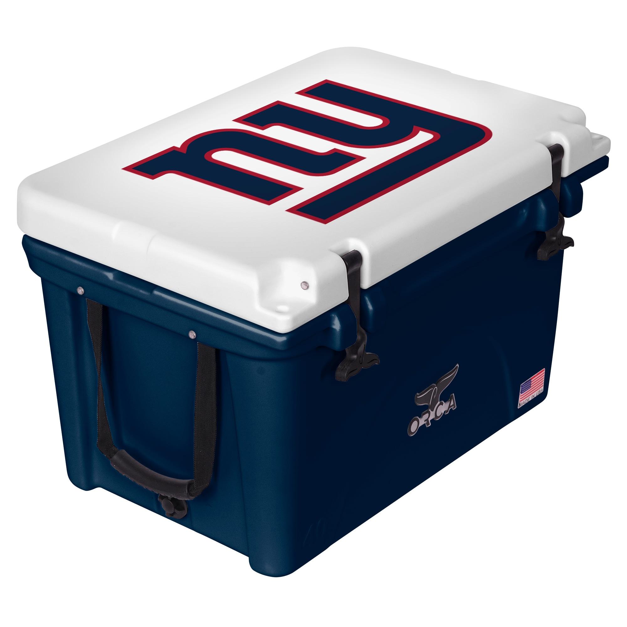 New York Giants ORCA 40-Quart Hard-Sided Cooler - Blue/White