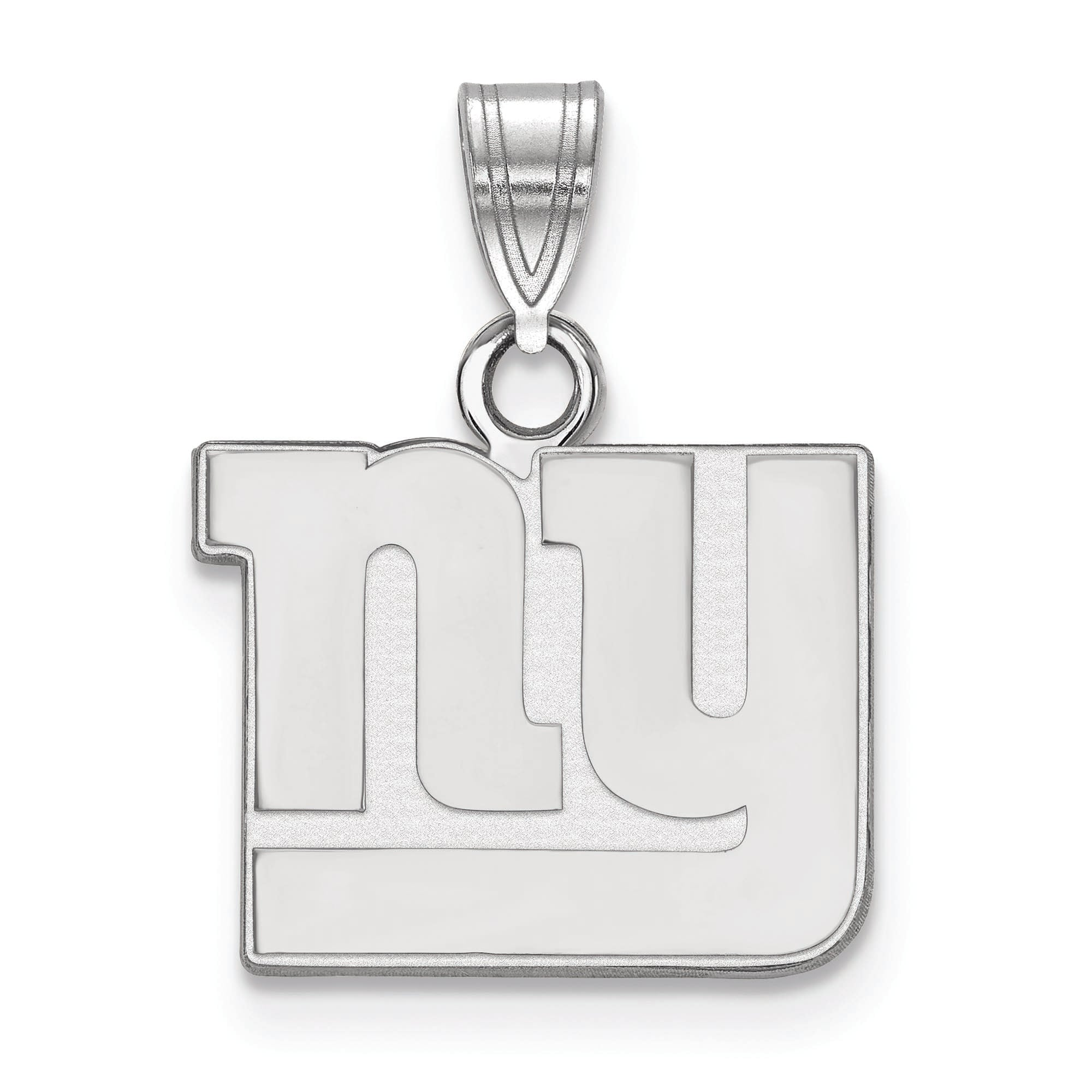New York Giants Women's Silver Small Pendant