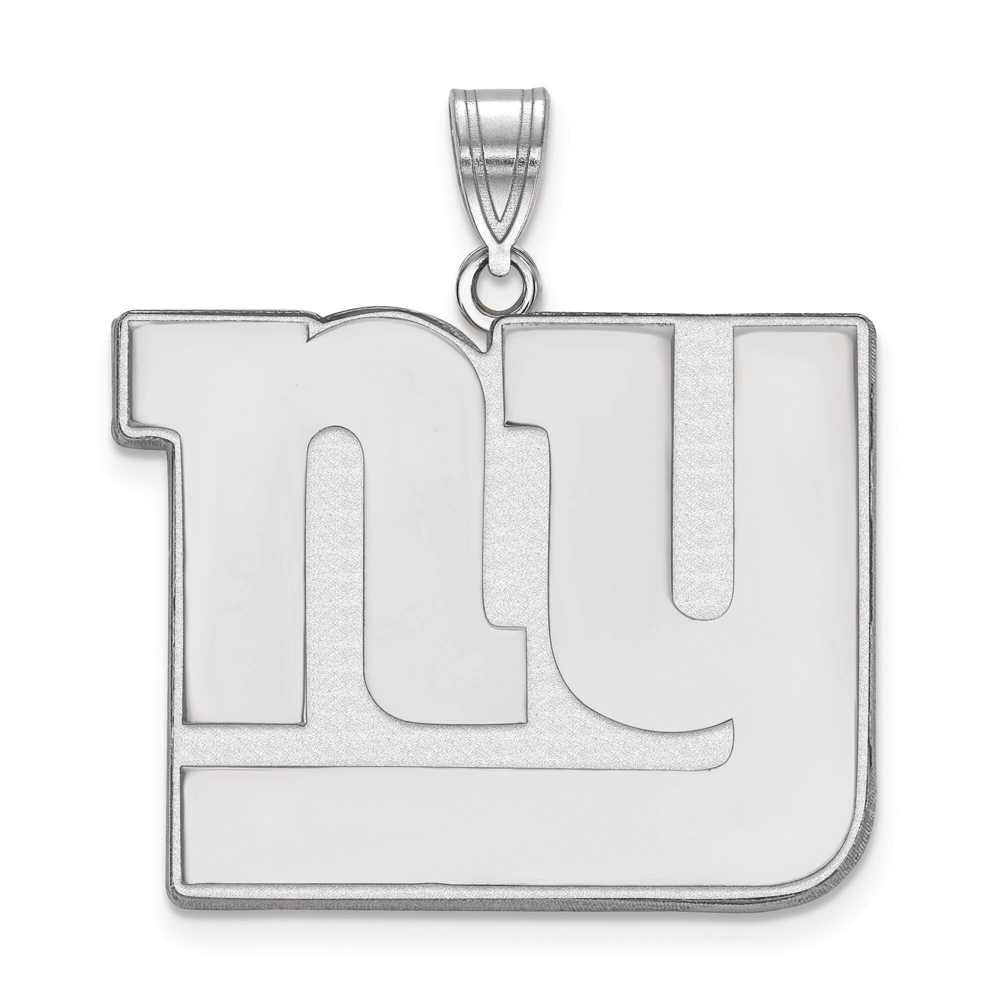 New York Giants Women's Sterling Silver XL Pendant