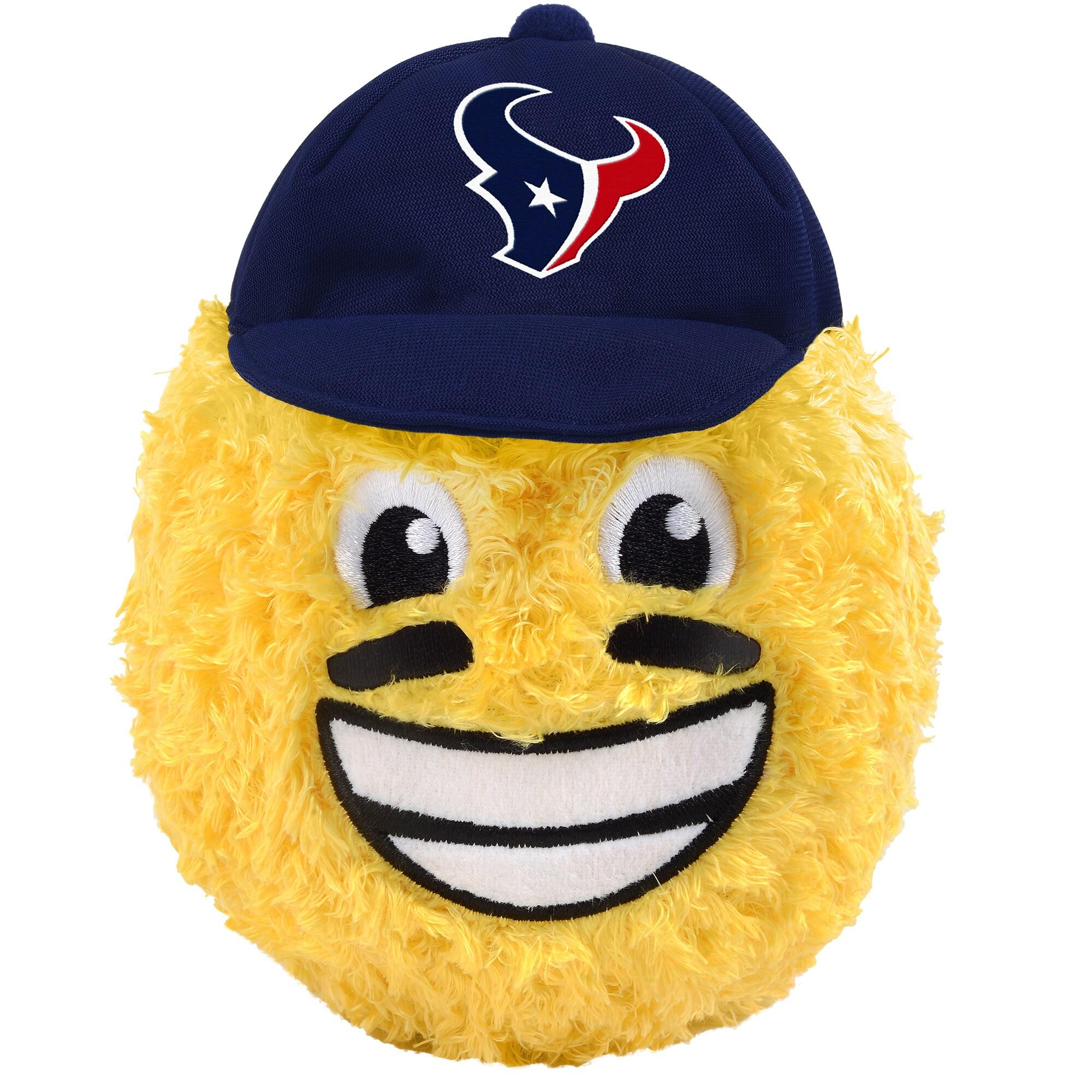 "Houston Texans 5"" Eye Black Teamoji Plush Toy"