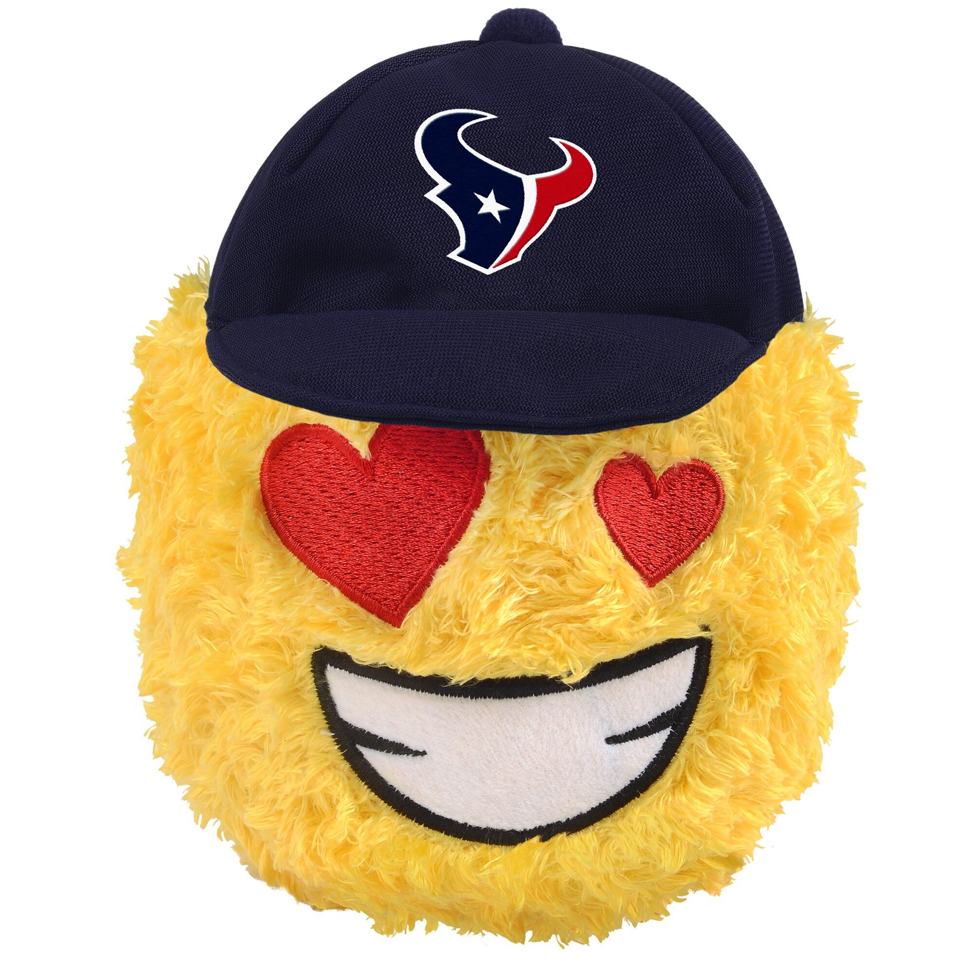 "Houston Texans 5"" Heart Eyes Teamoji Plush Toy"