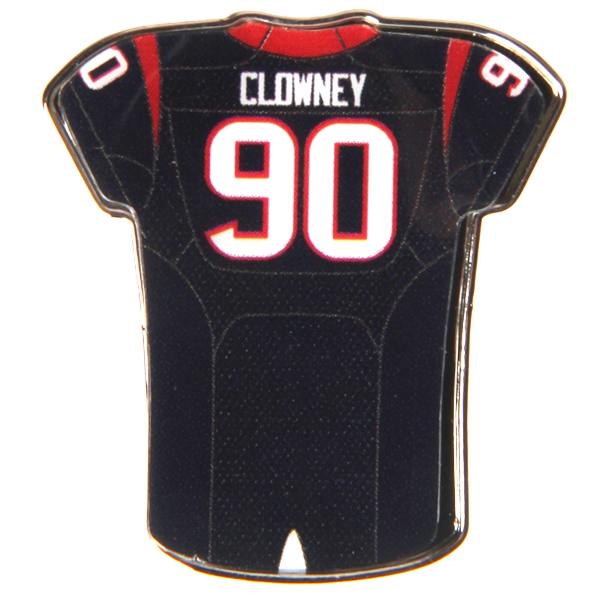 "Jadeveon Clowney Houston Texans WinCraft 1"" x 1"" Jersey Pin"