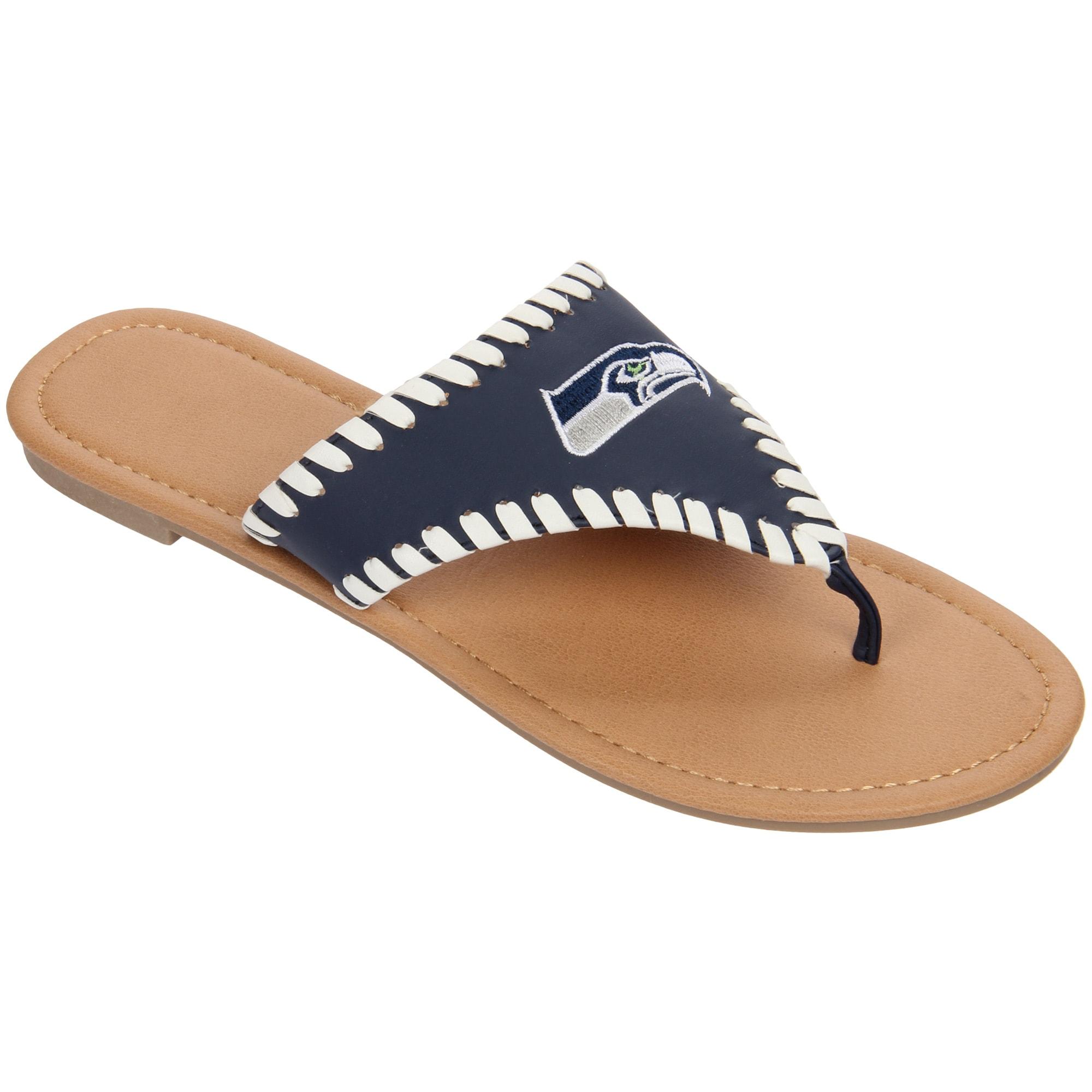 Seattle Seahawks Women's High End Sandals