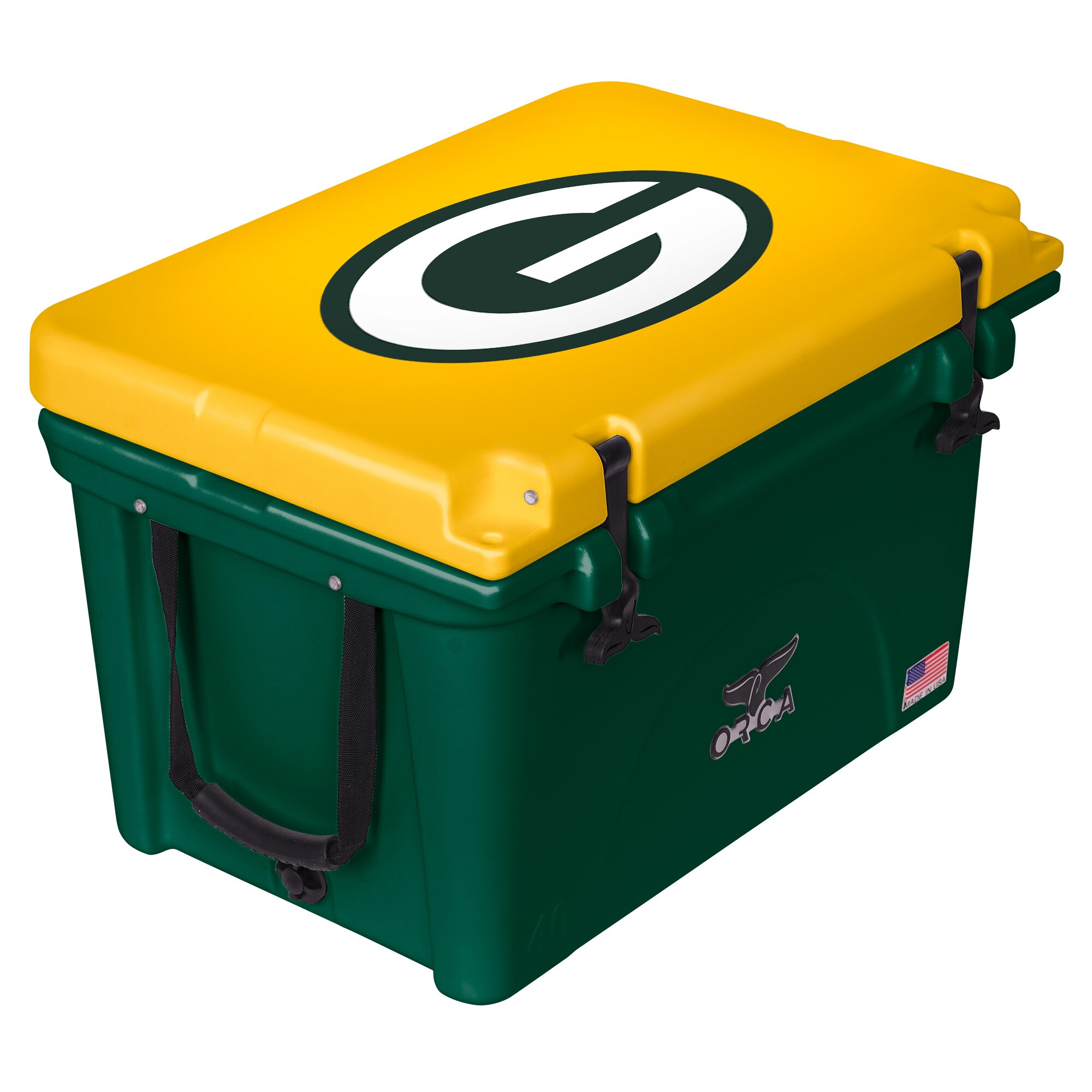 Green Bay Packers ORCA 40-Quart Hard-Sided Cooler - Green/Yellow