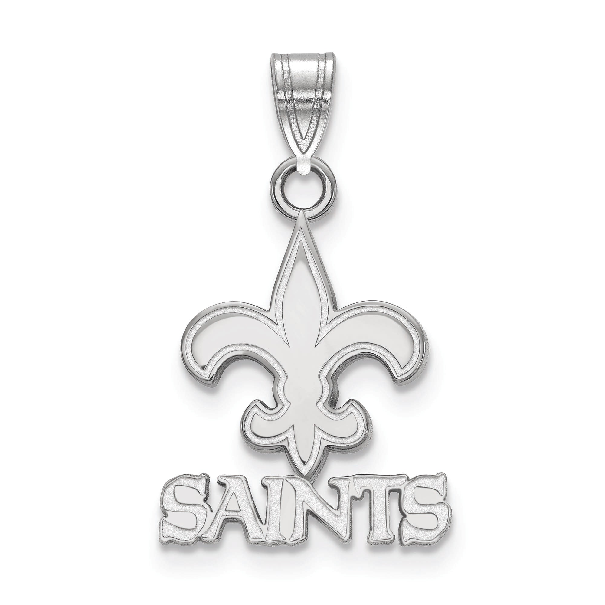 New Orleans Saints Women's Silver Small Pendant