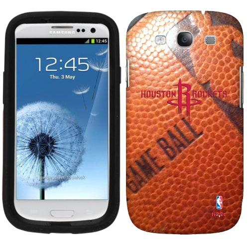 Houston Rockets Samsung Galaxy Game Ball S3 Case