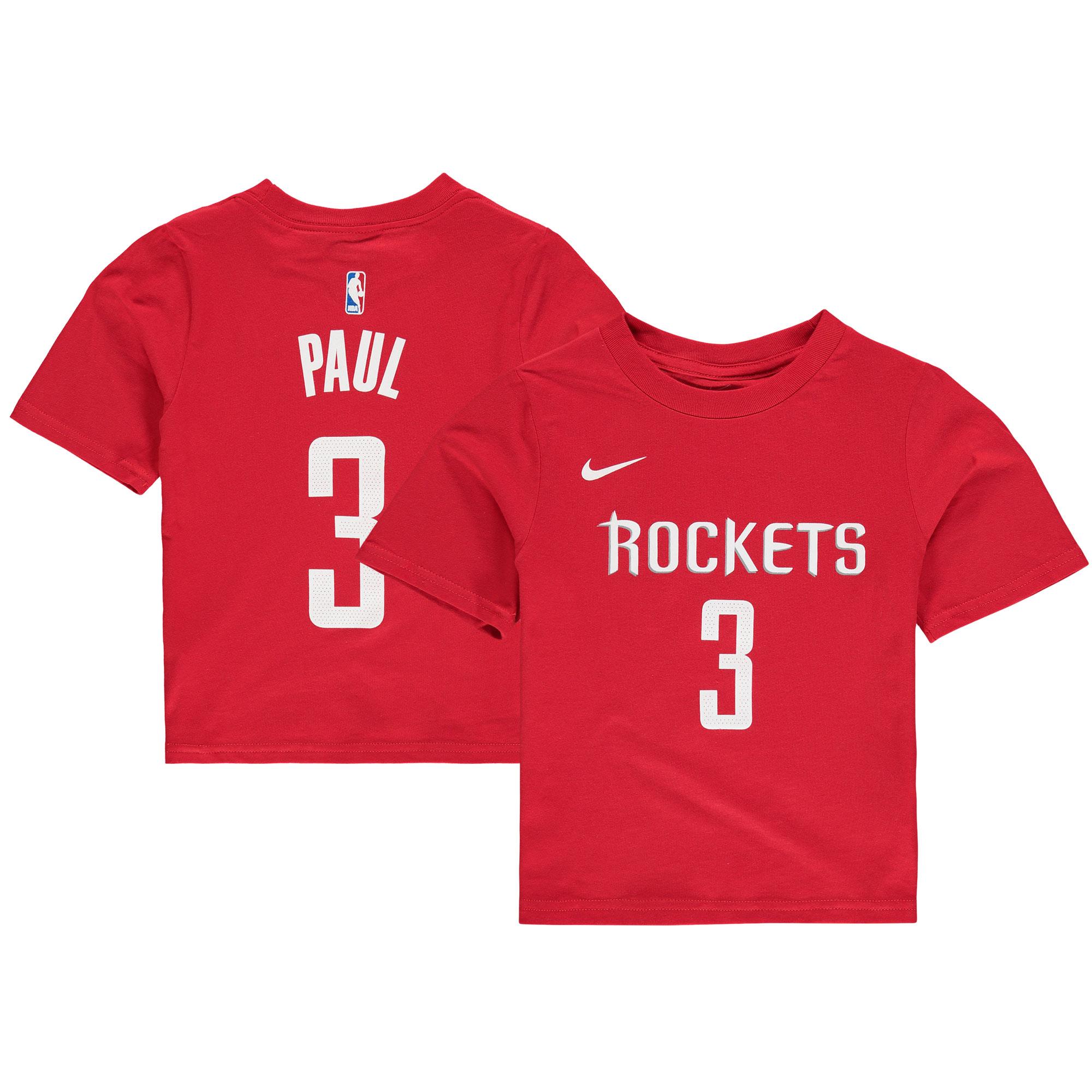 Chris Paul Houston Rockets Nike Preschool Name & Number T-Shirt - Red