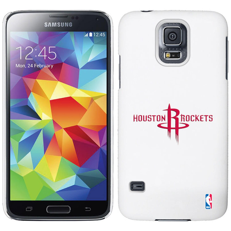 Houston Rockets Galaxy S5 Primary Logo Thinshield Case - White