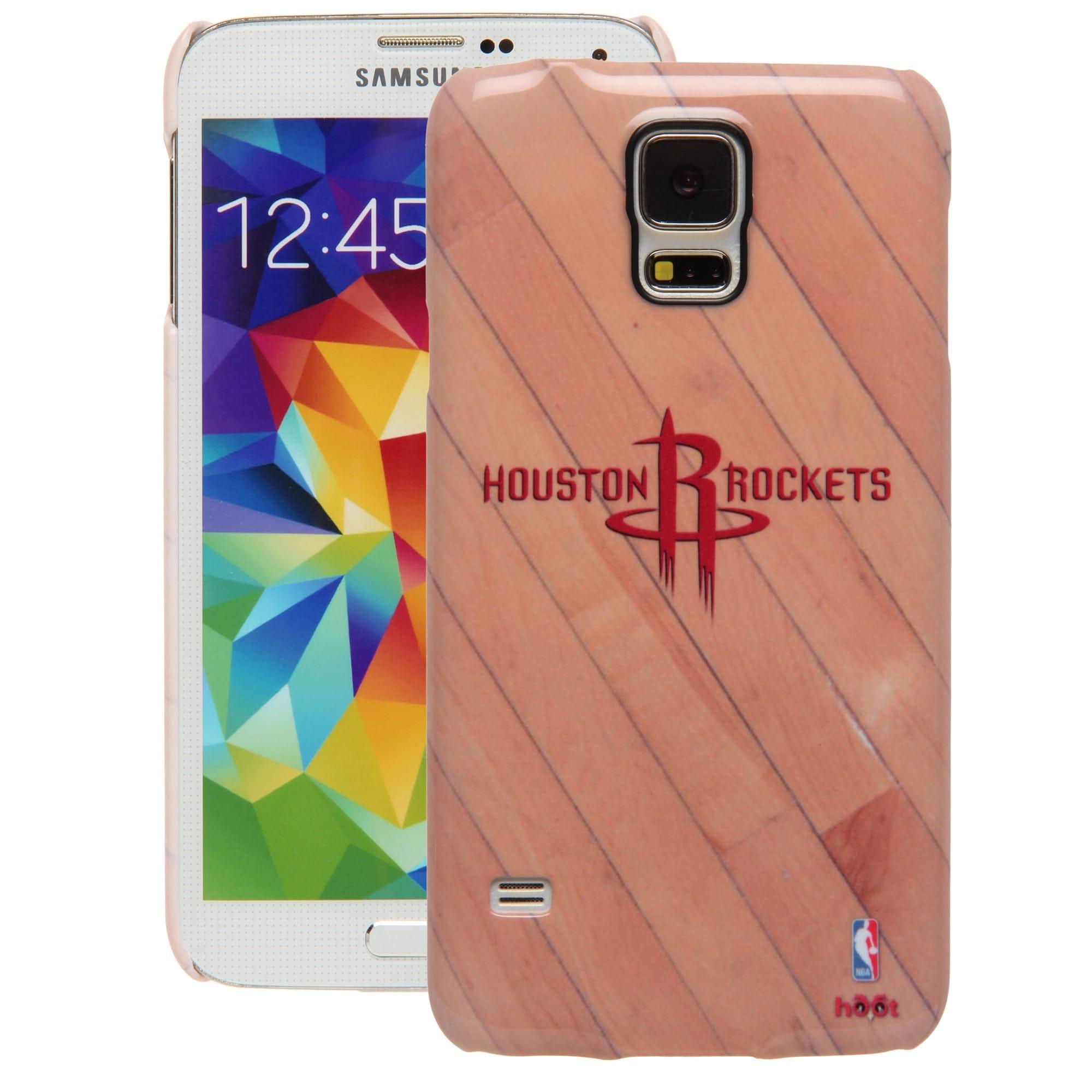 Houston Rockets Galaxy S5 Hardwood Court Case