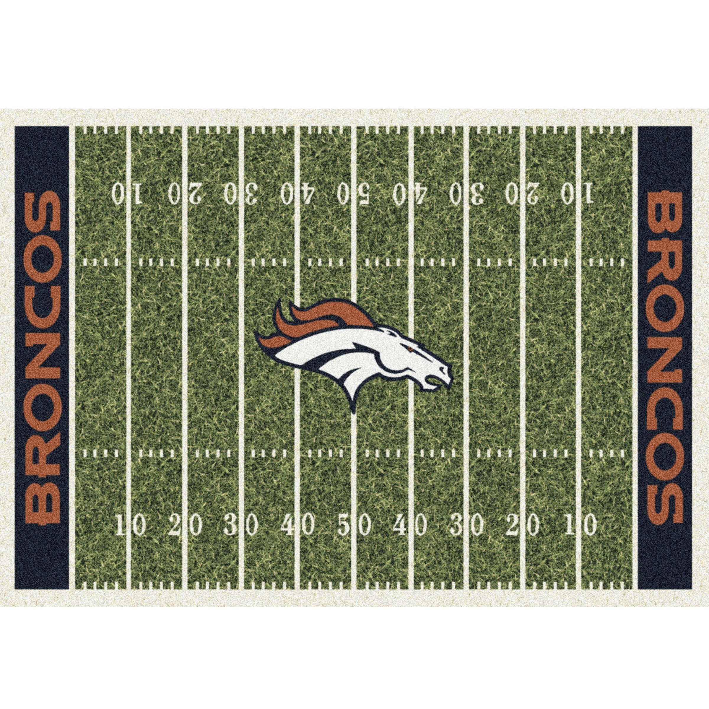 Denver Broncos Imperial 6' x 8' Homefield Rug
