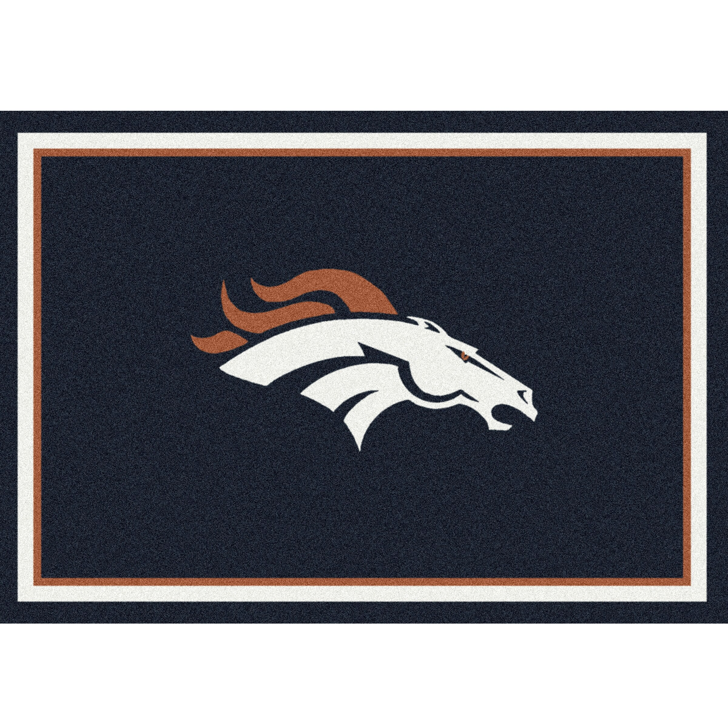 Denver Broncos Imperial 6' x 8' Spirit Rug