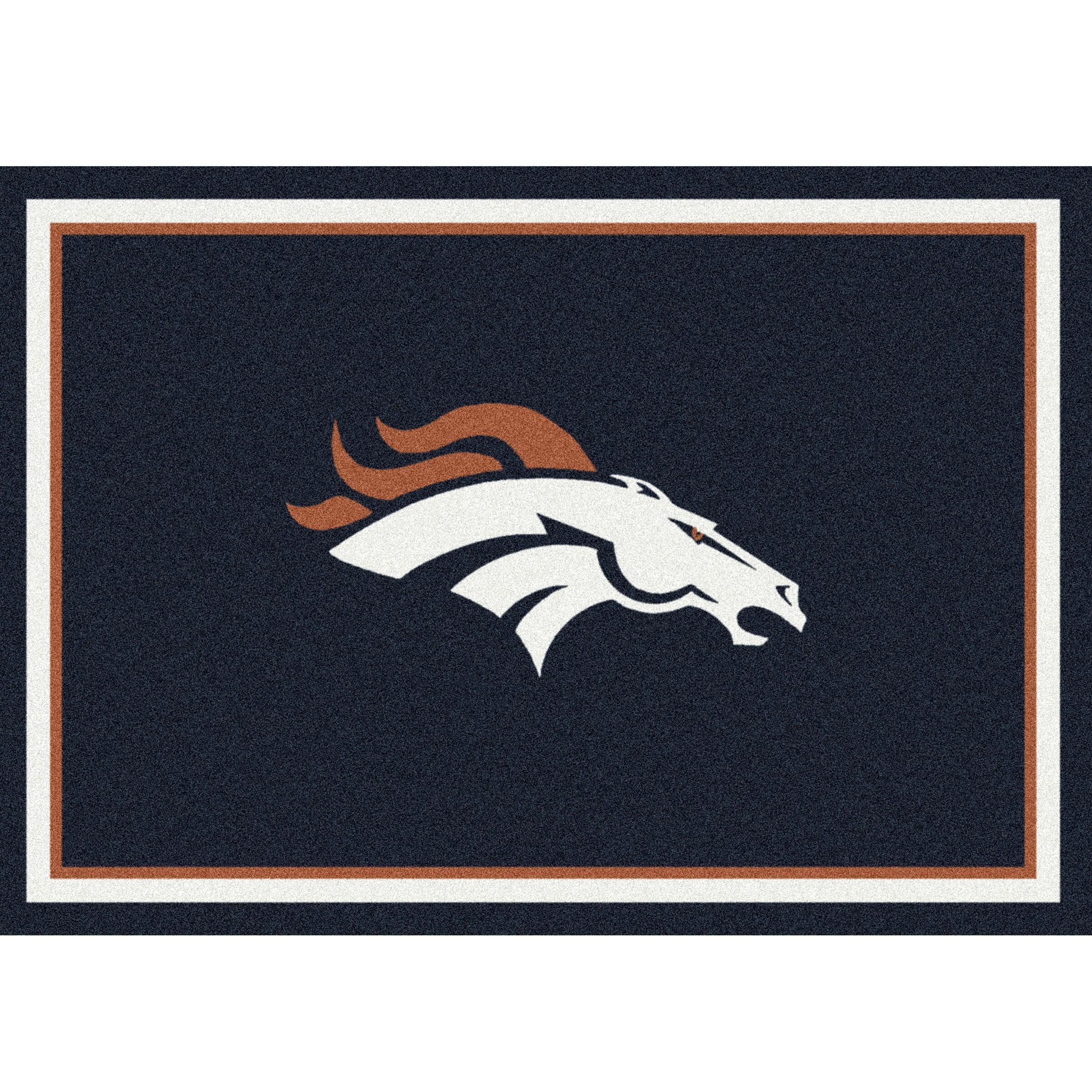 Denver Broncos Imperial 8' x 11' Spirit Rug