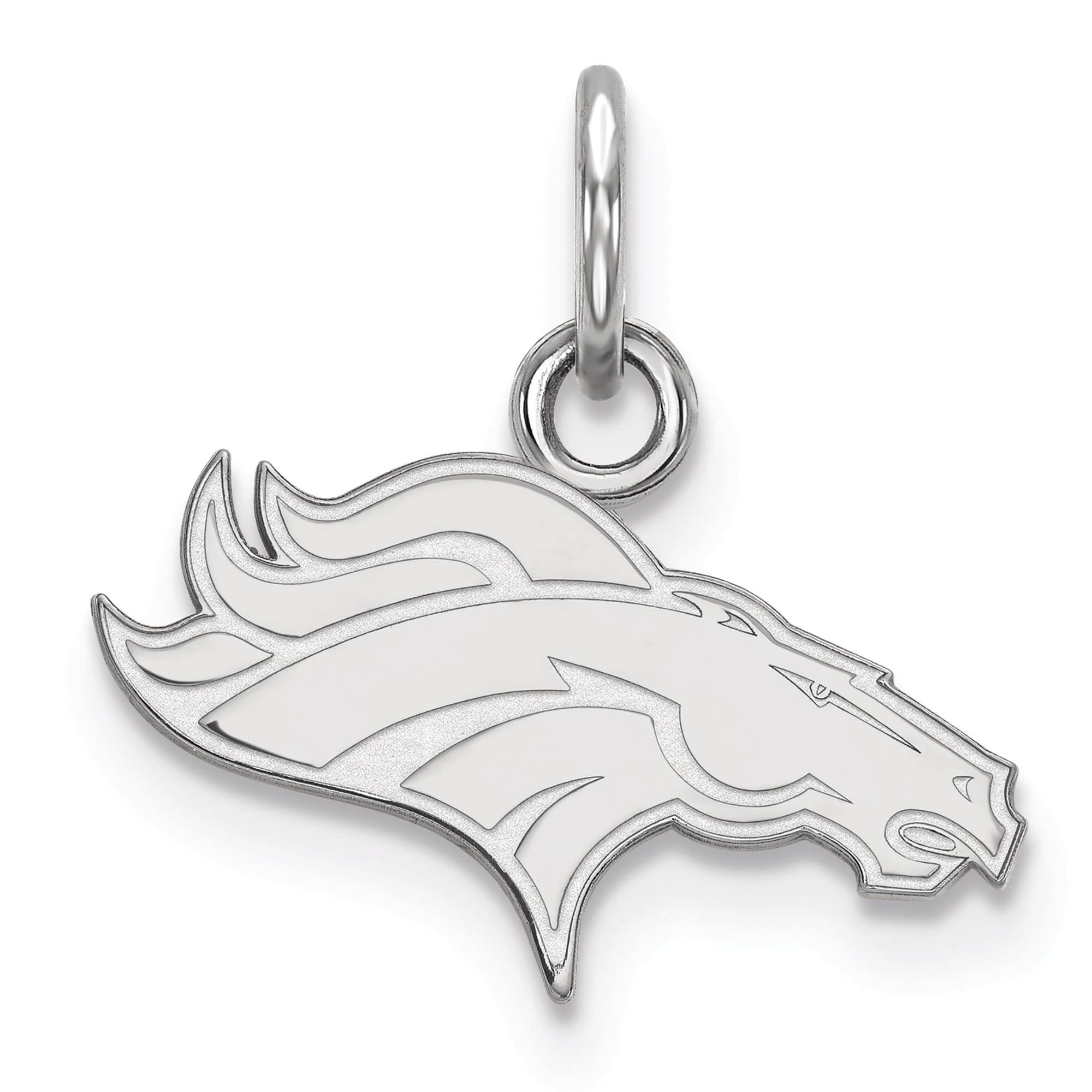 Denver Broncos Women's Sterling Silver XS Charm