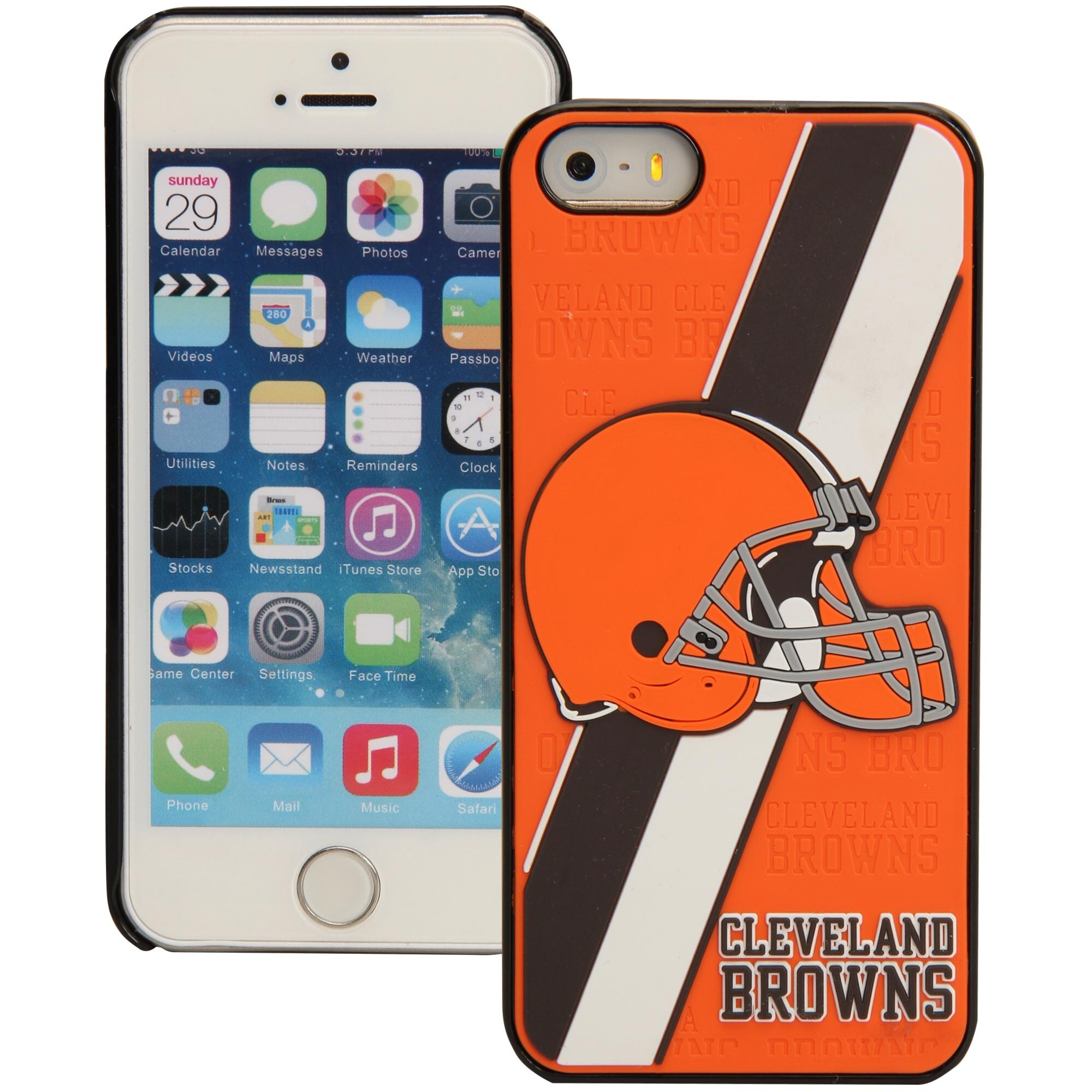 Cleveland Browns Historic Logo iPhone 5 Hard Case