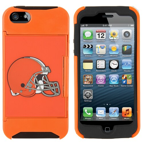 Cleveland Browns Historic Logo iPhone 5 Credit Card Case