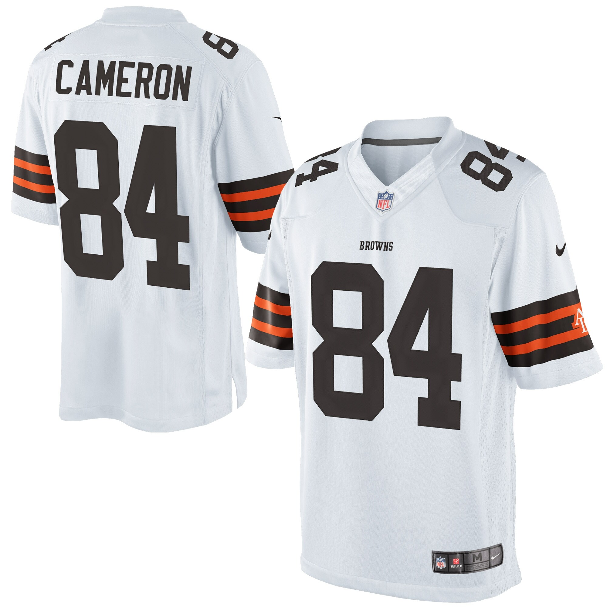 Jordan Cameron Cleveland Browns Historic Logo Nike Limited Jersey - White