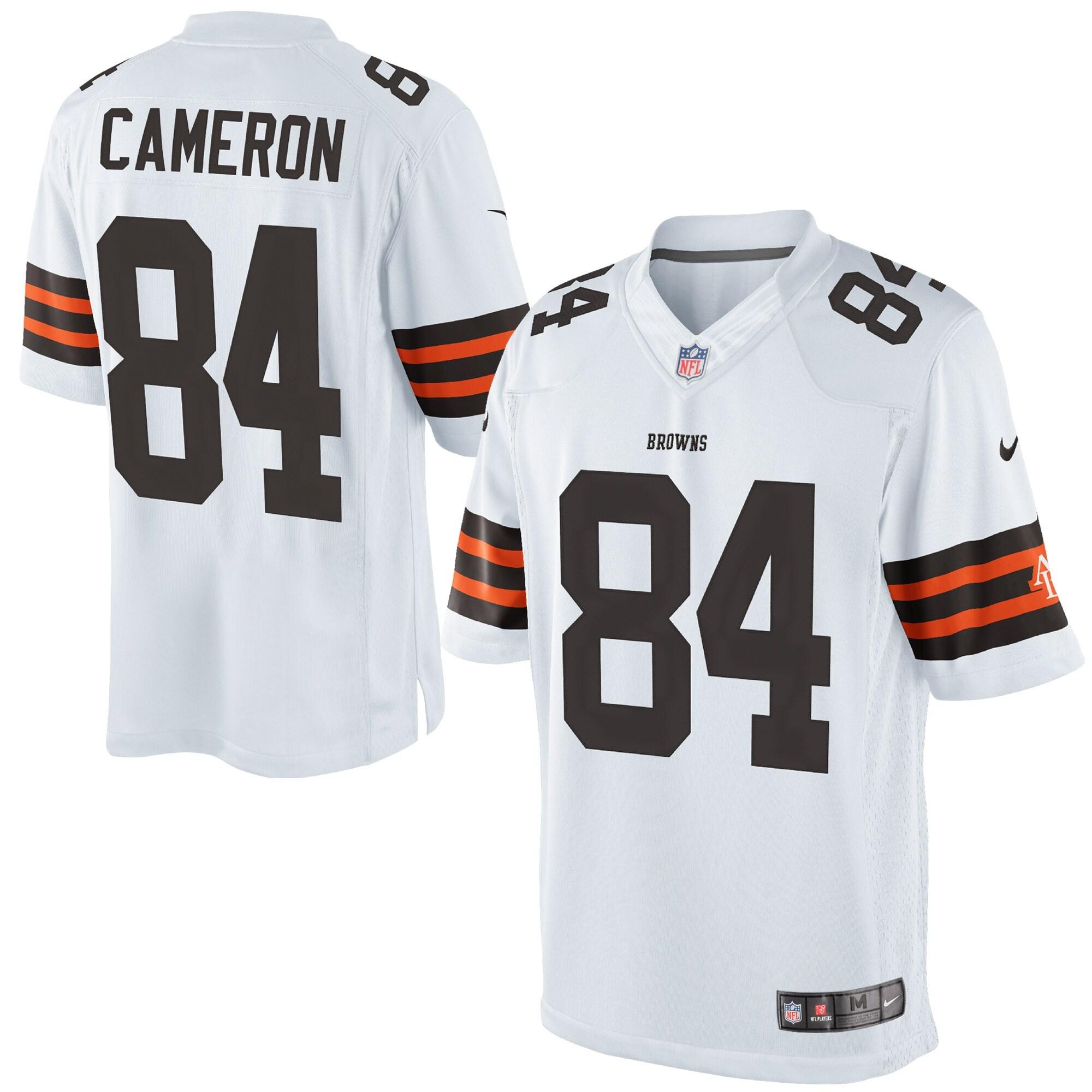 Jordan Cameron Cleveland Browns Historic Logo Nike Limited Jersey - White