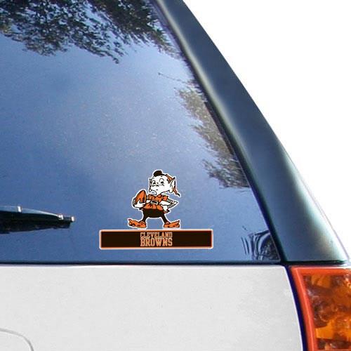 "Cleveland Browns Historic Logo WinCraft 4"" x 5"" Perfect Cut Team Logo Decal"