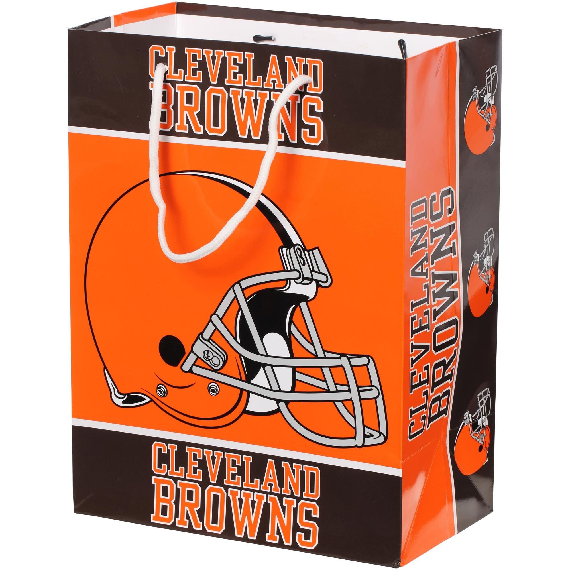 Cleveland Browns Historic Logo Gift Bag