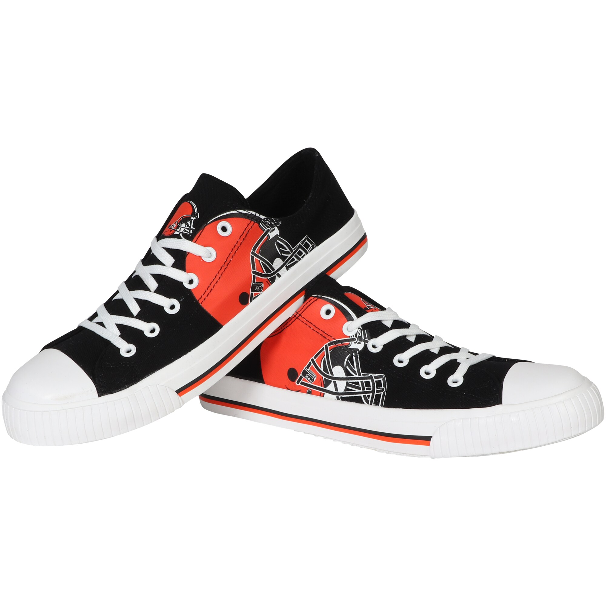 Cleveland Browns Big Logo Low Top Sneakers