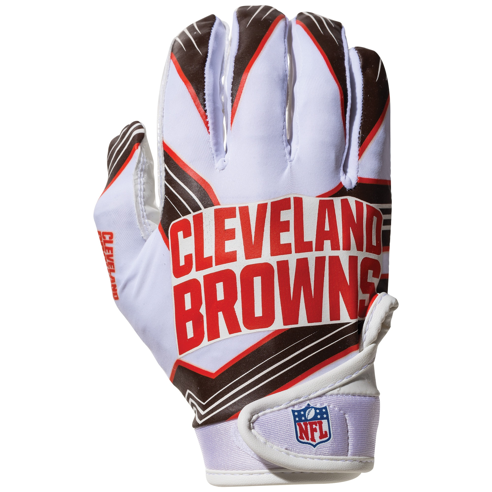 Cleveland Browns Franklin Sports Youth Receiver Gloves