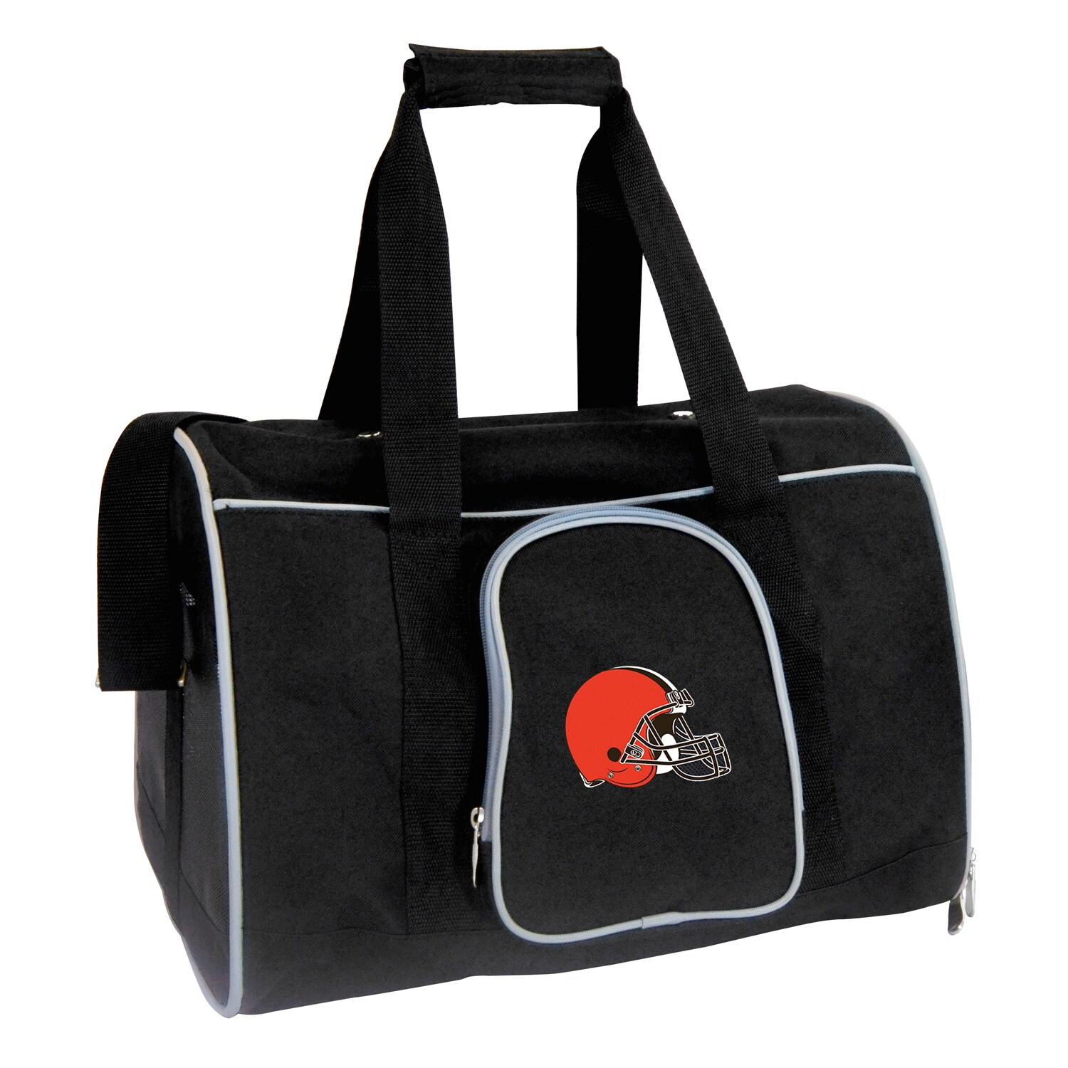 "Cleveland Browns Small 16"" Pet Carrier - Black"