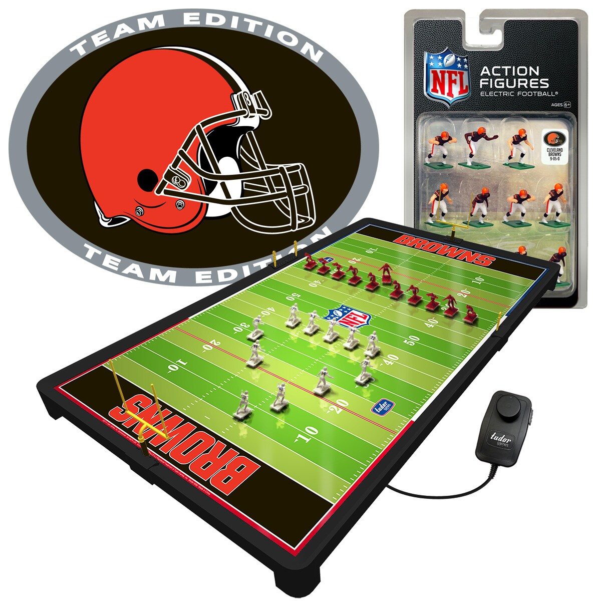 Cleveland Browns Deluxe Electric Football Game