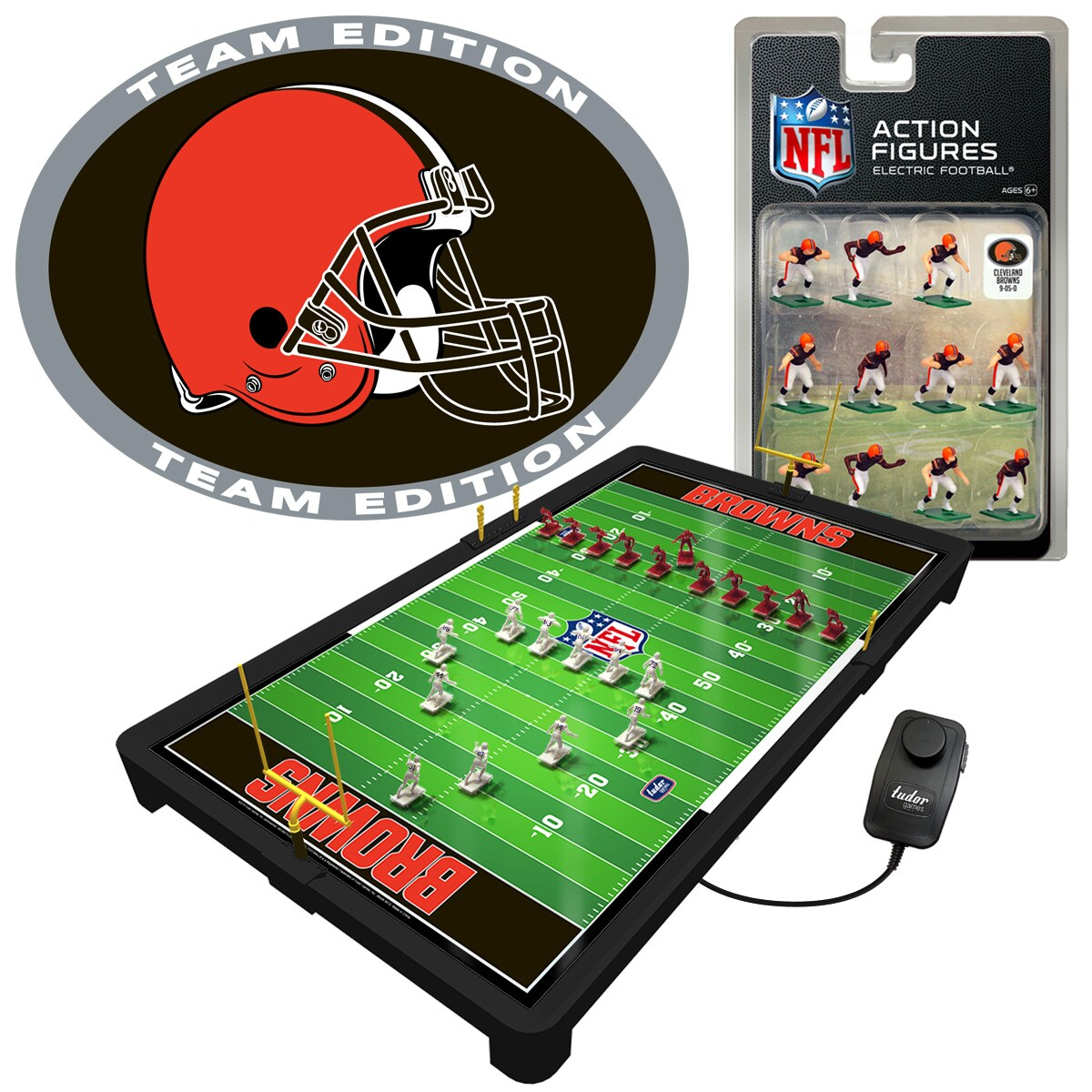 Cleveland Browns Electric Football Game
