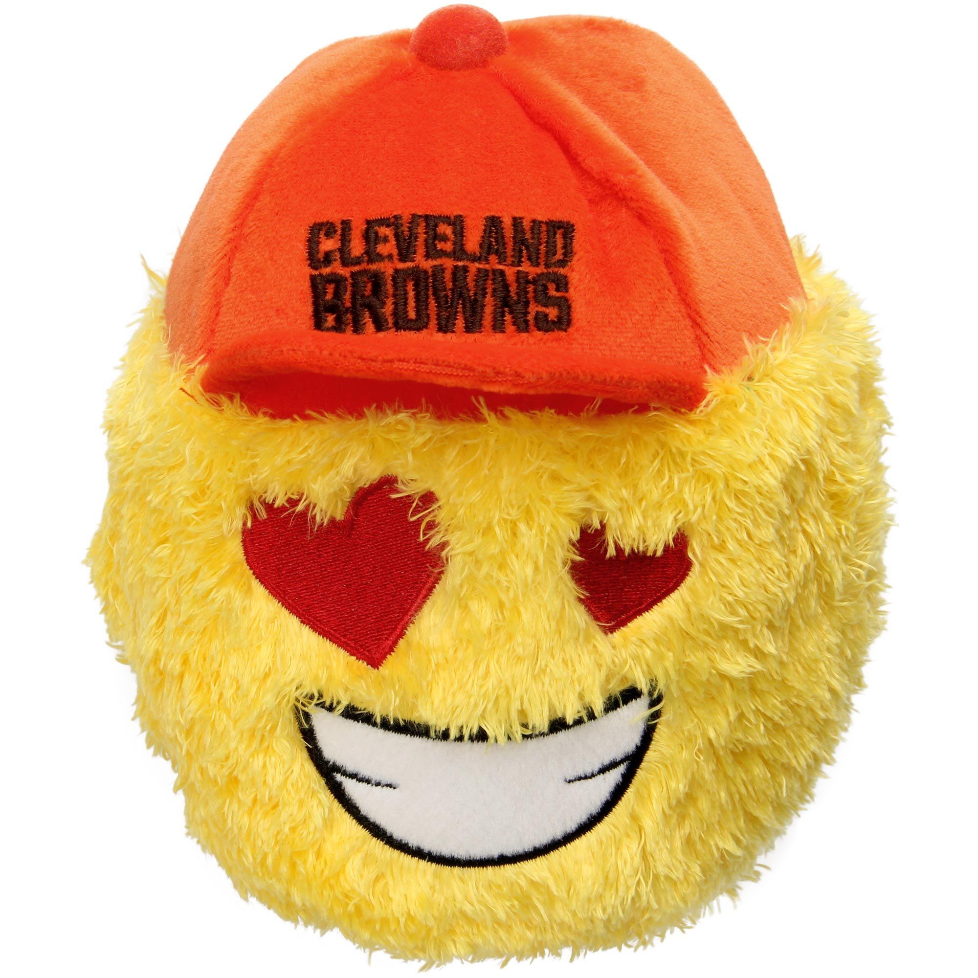 "Cleveland Browns 5"" Heart Eyes Teamoji Plush Toy"