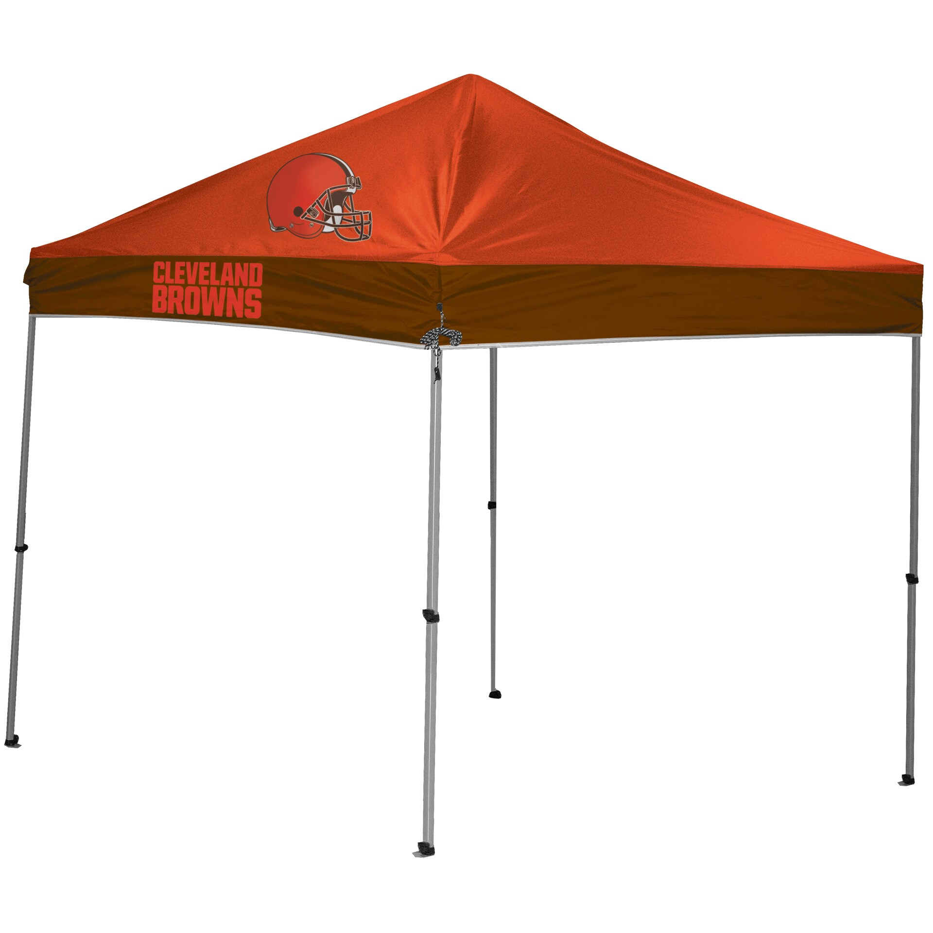 Cleveland Browns 9' x 9' 2-Tone Straight Leg Canopy Tent