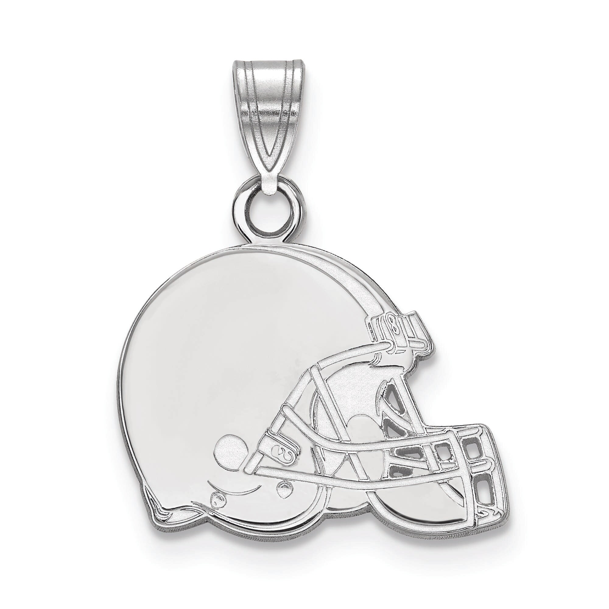 Cleveland Browns Women's Silver Small Pendant