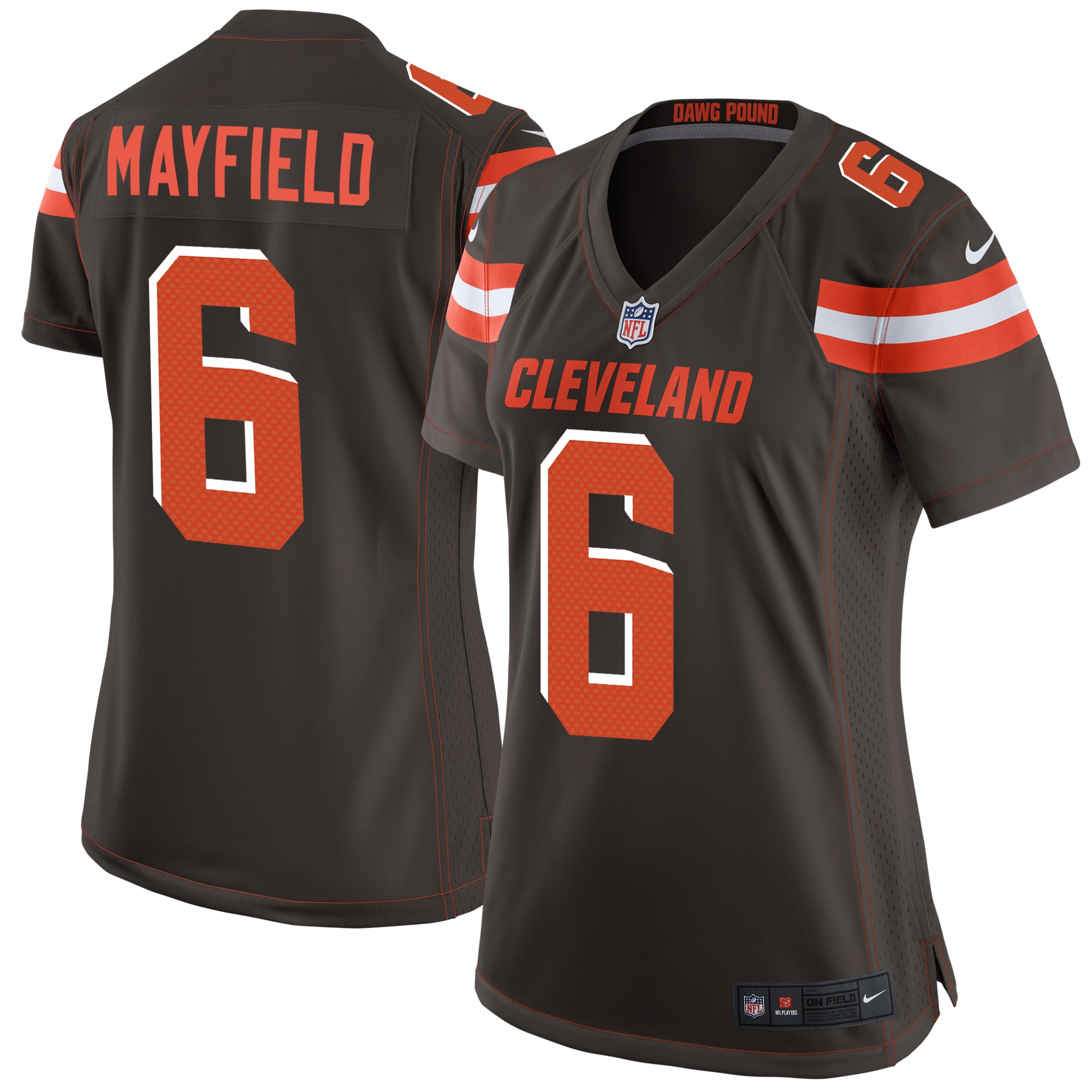 Baker Mayfield Cleveland Browns Nike Women's Game Jersey - Brown