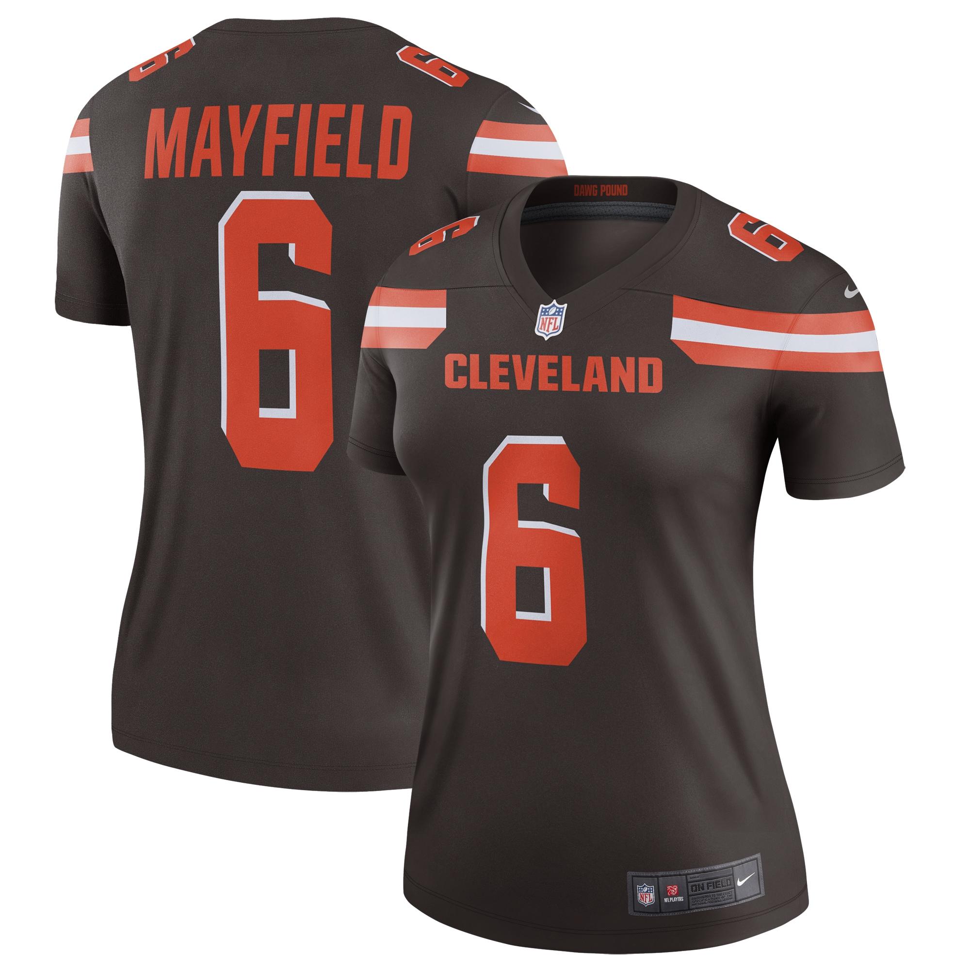 Baker Mayfield Cleveland Browns Nike Women's Legend Jersey - Brown