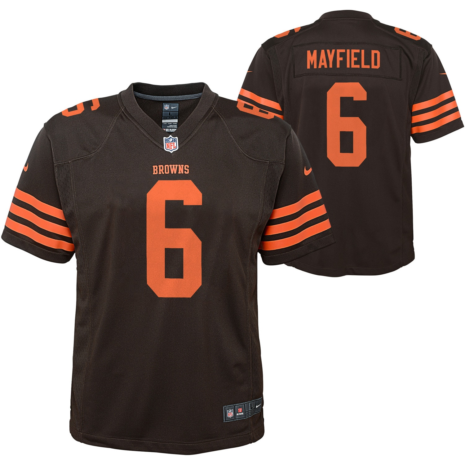 Baker Mayfield Cleveland Browns Nike Youth Player Game Jersey - Brown