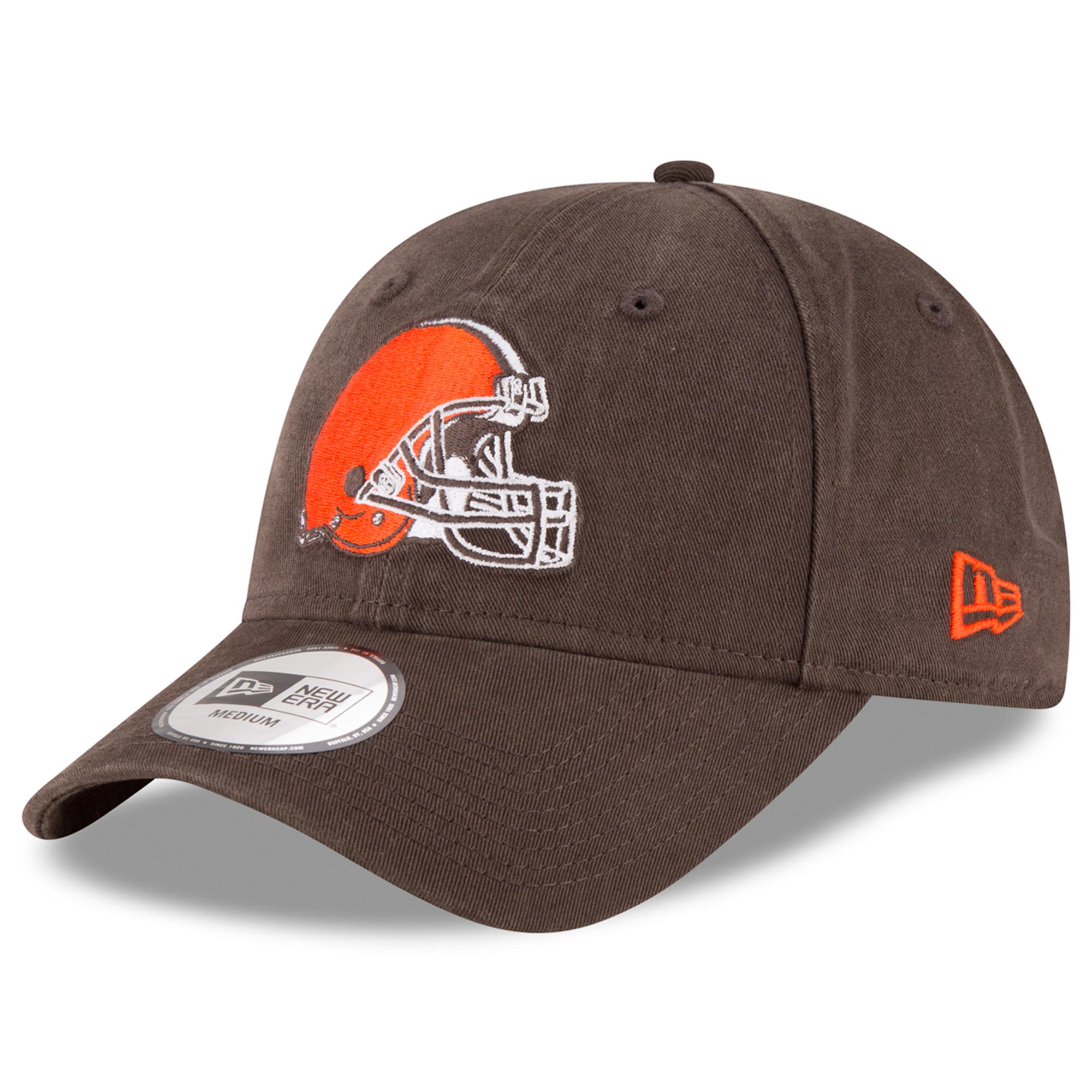Cleveland Browns New Era NE Core Fit 49FORTY Fitted Hat - Brown
