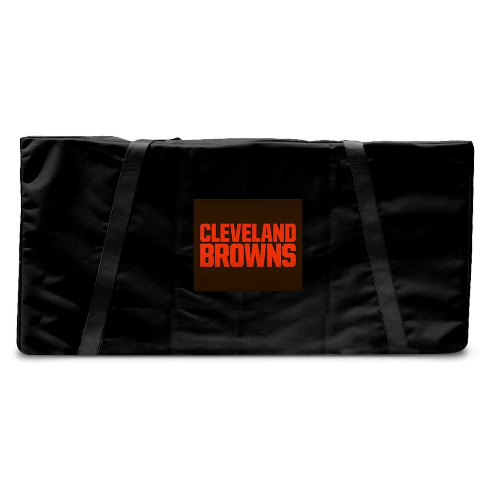 Cleveland Browns Regulation Cornhole Carrying Case