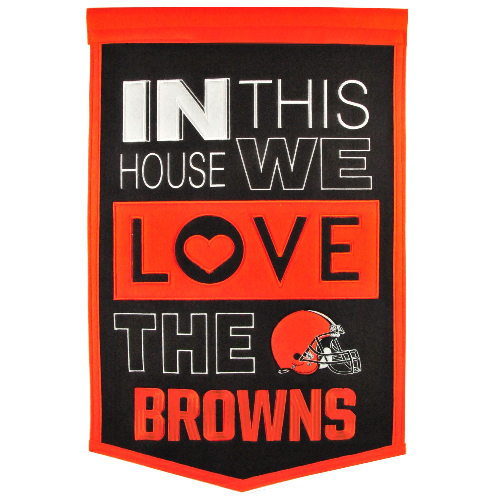 Cleveland Browns 15'' x 24'' Home Banner