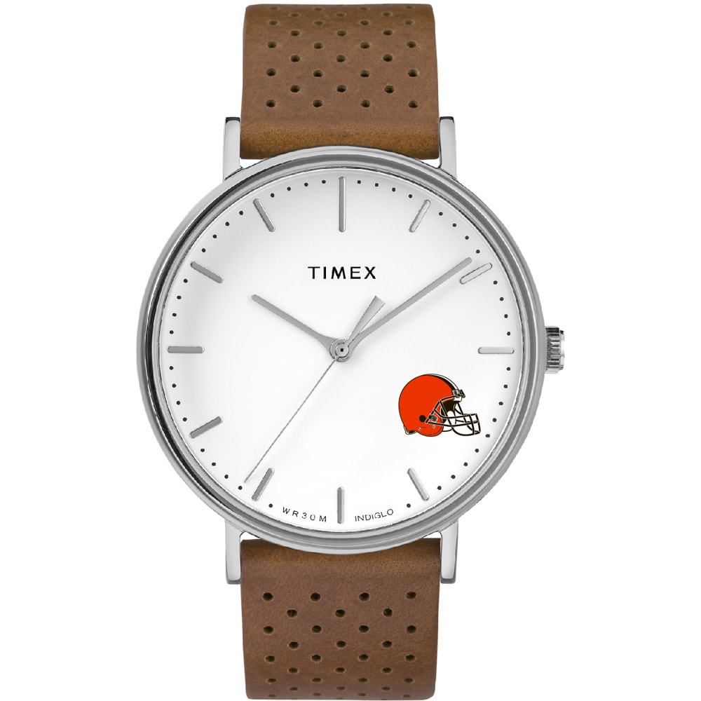 Cleveland Browns Timex Bright Whites Tribute Collection Watch
