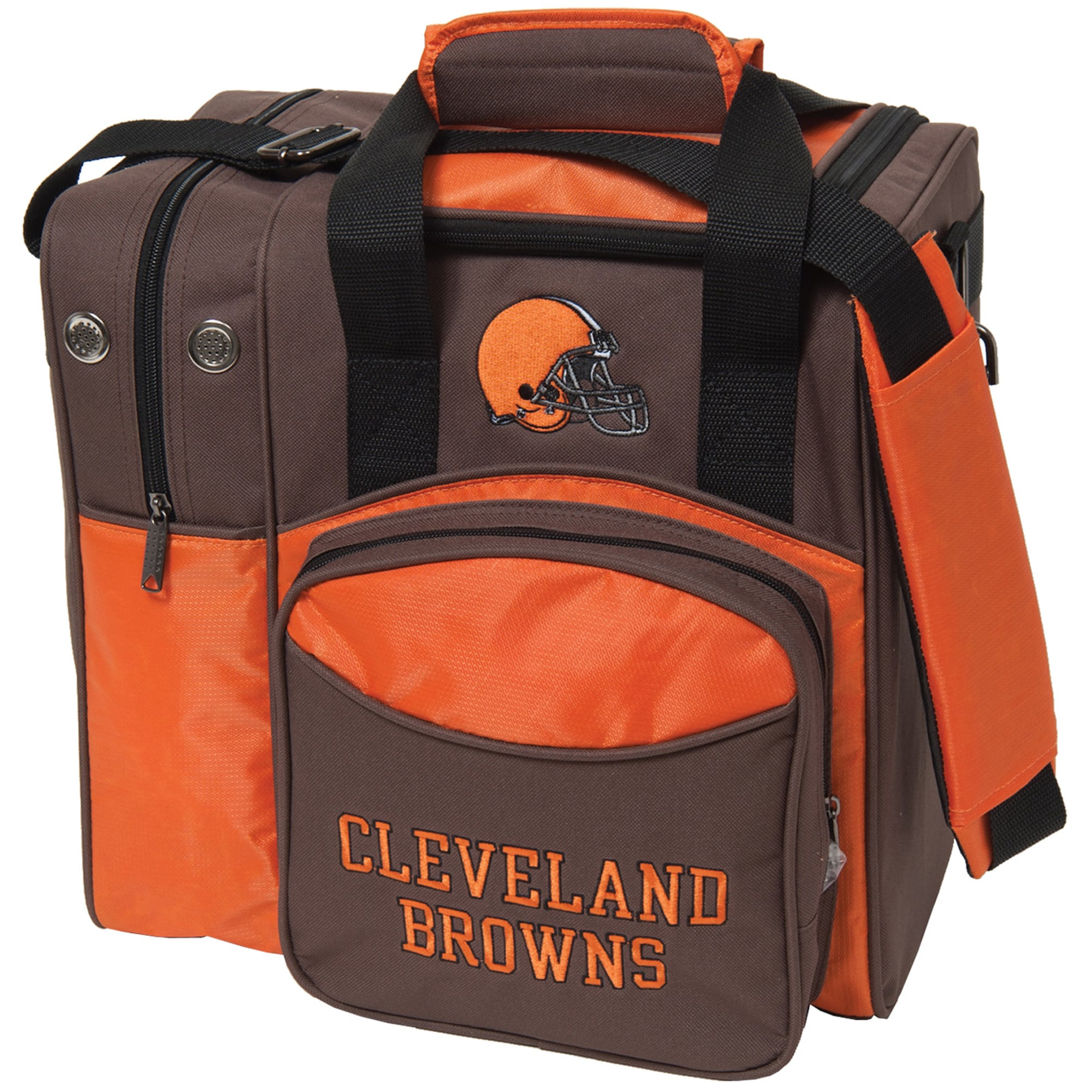 Cleveland Browns Single Ball Bowling Tote