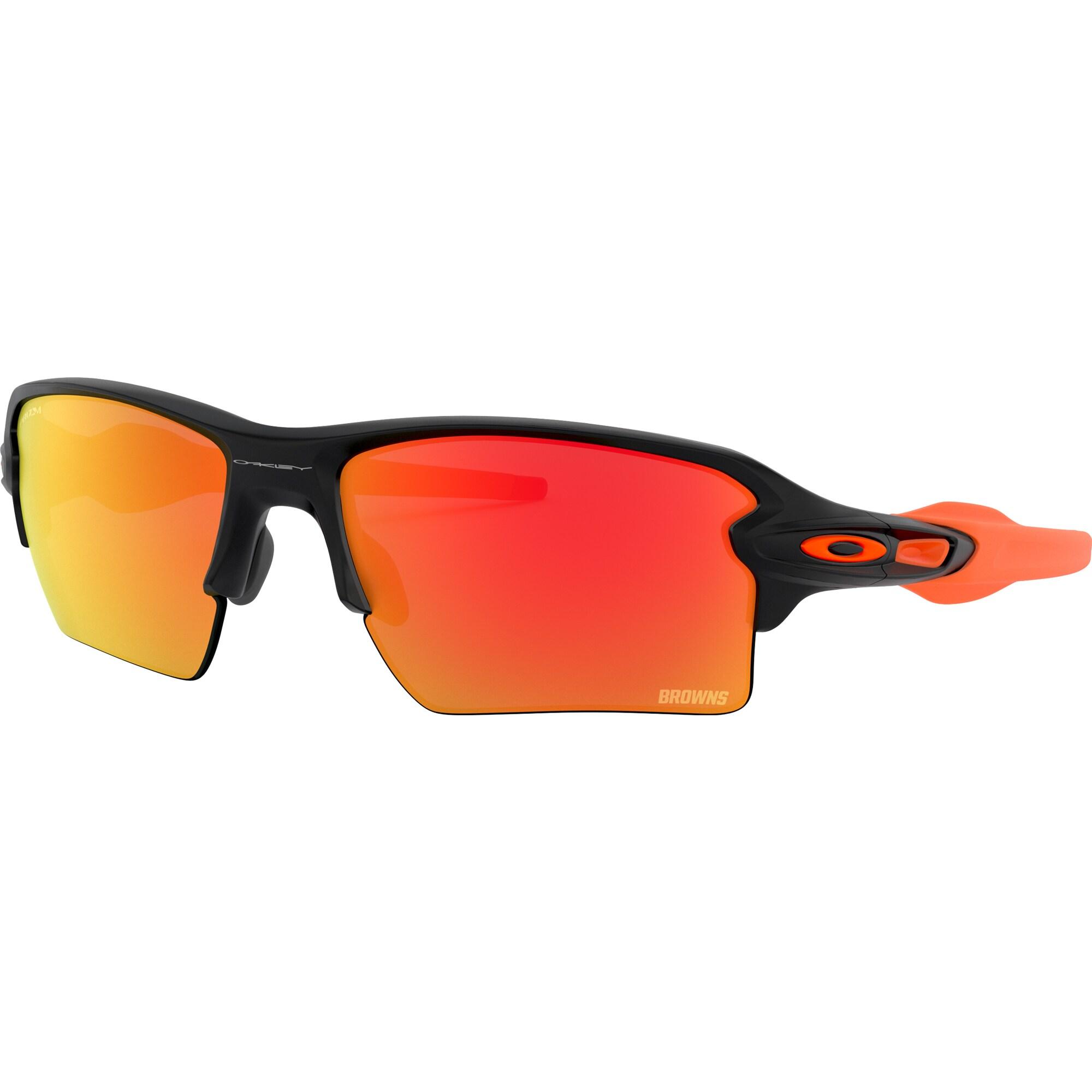 Cleveland Browns Oakley Flak 2.0 XL Sunglasses