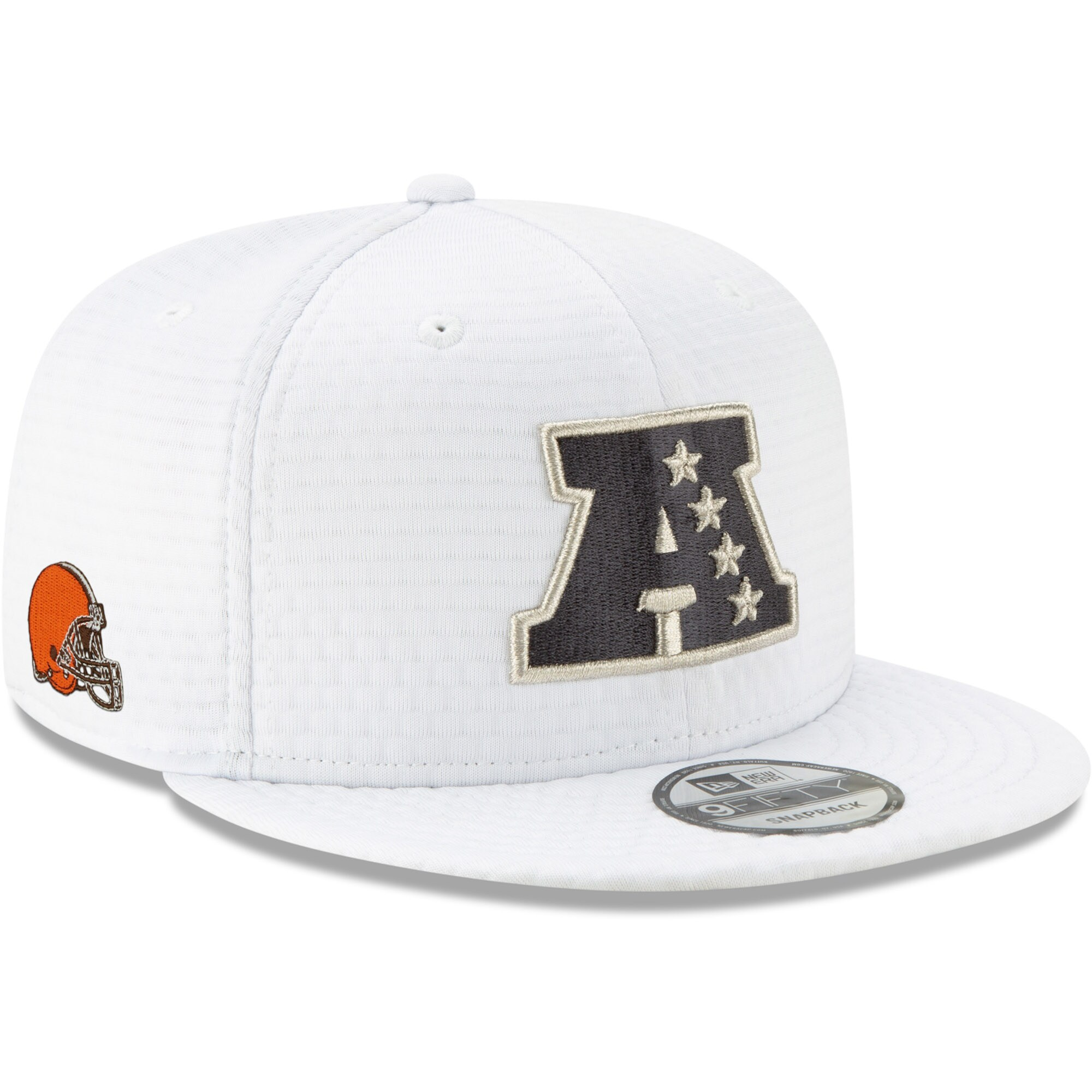 Cleveland Browns New Era AFC Pro Bowl 9FIFTY Adjustable Snapback Hat - White