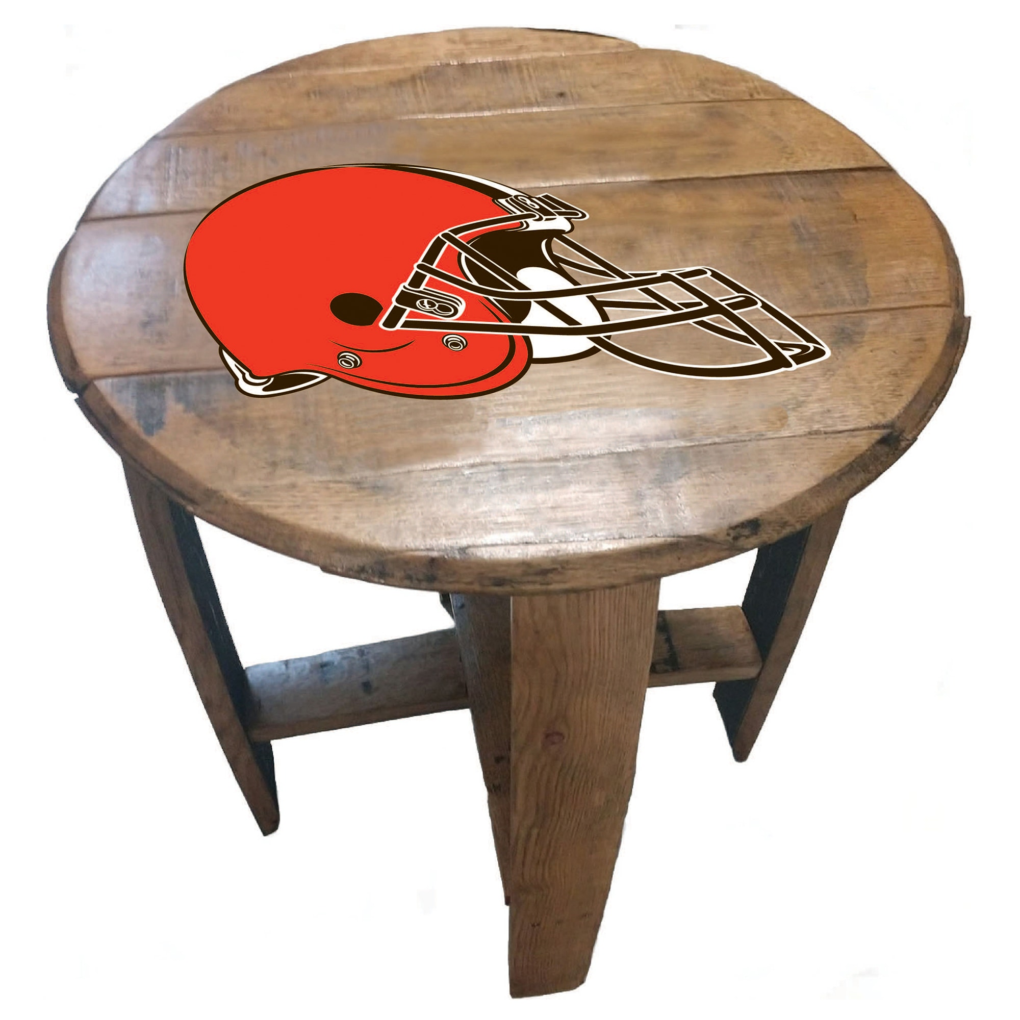 Cleveland Browns Imperial Oak Barrel Table