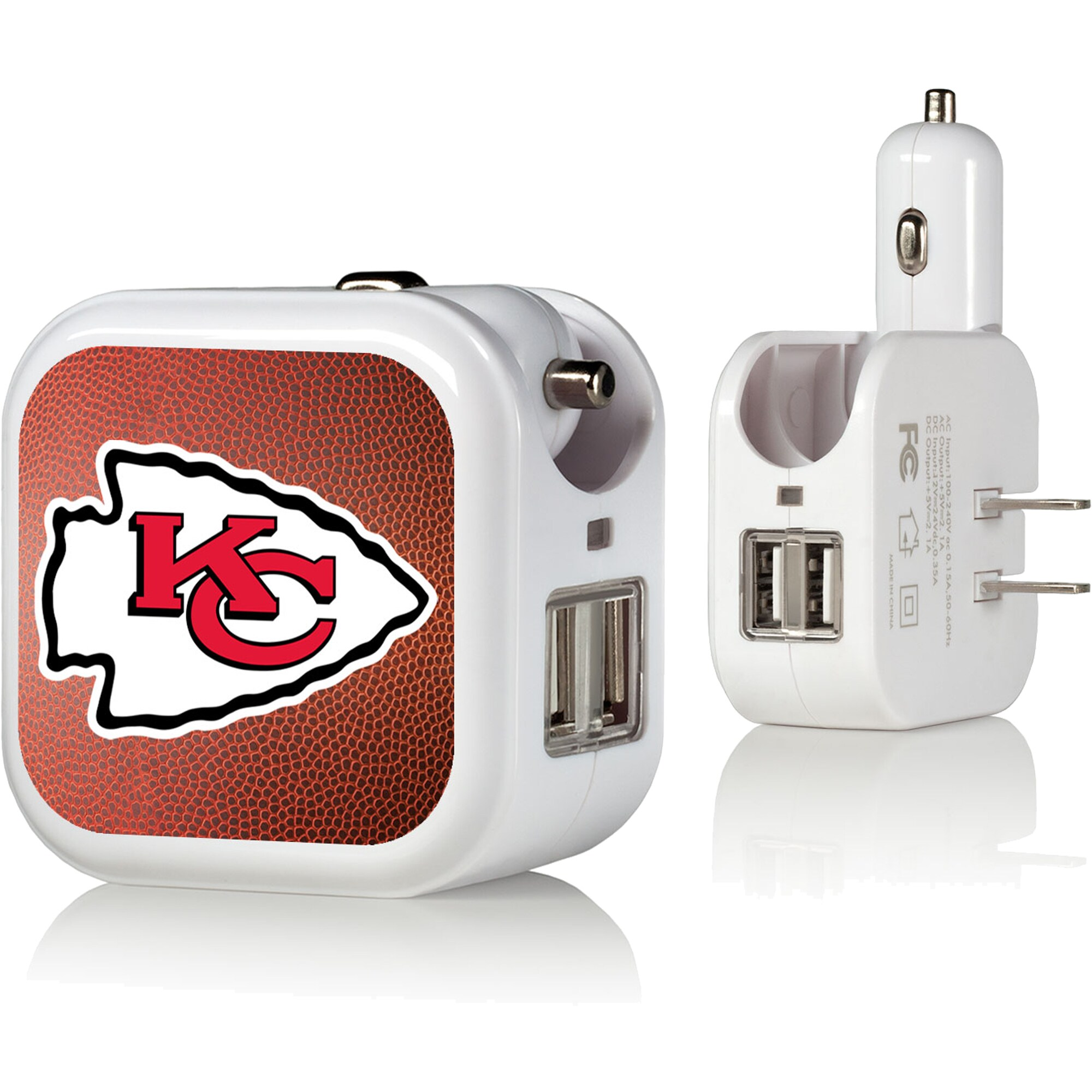 Kansas City Chiefs USB Phone Charger