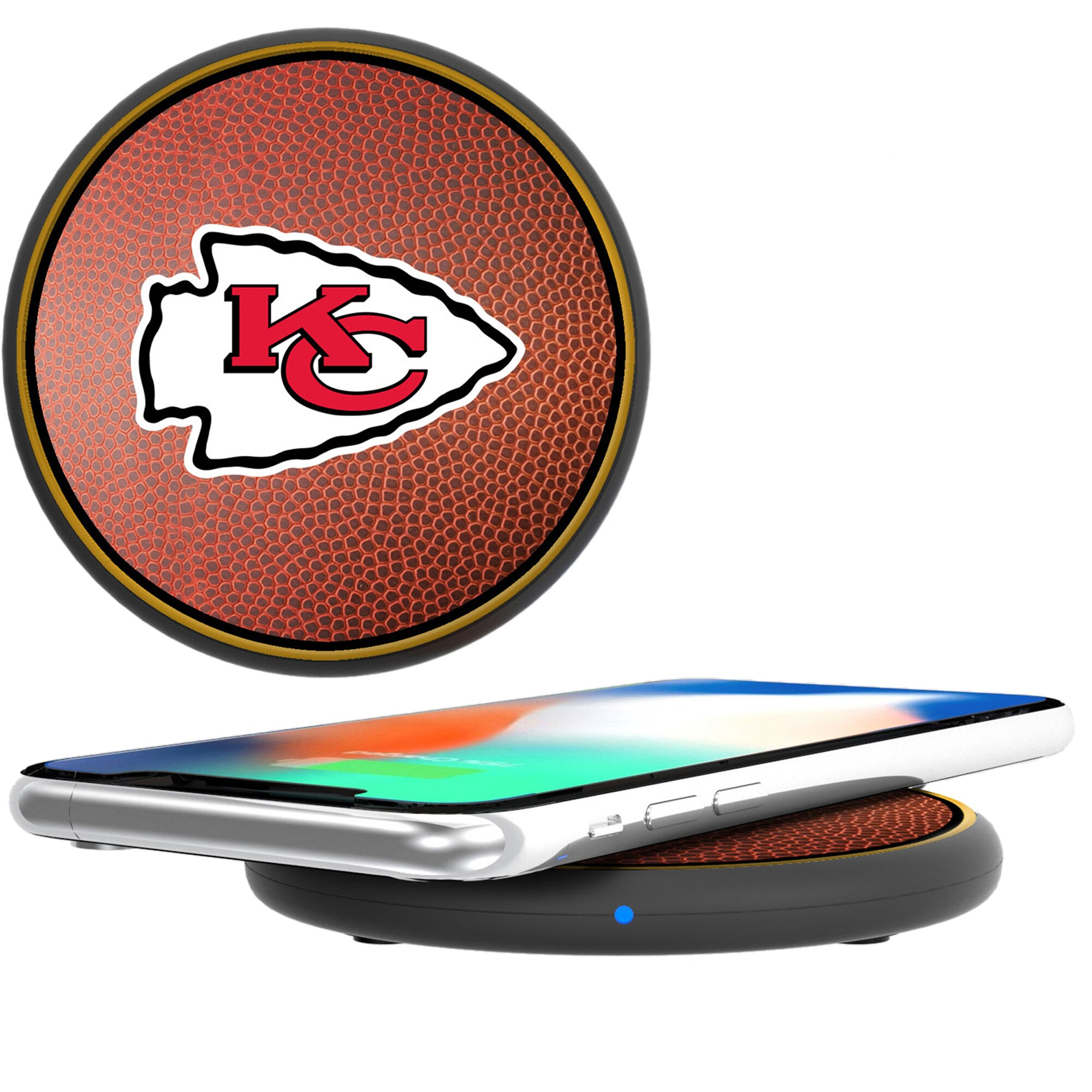 Kansas City Chiefs Wireless Cell Phone Charger