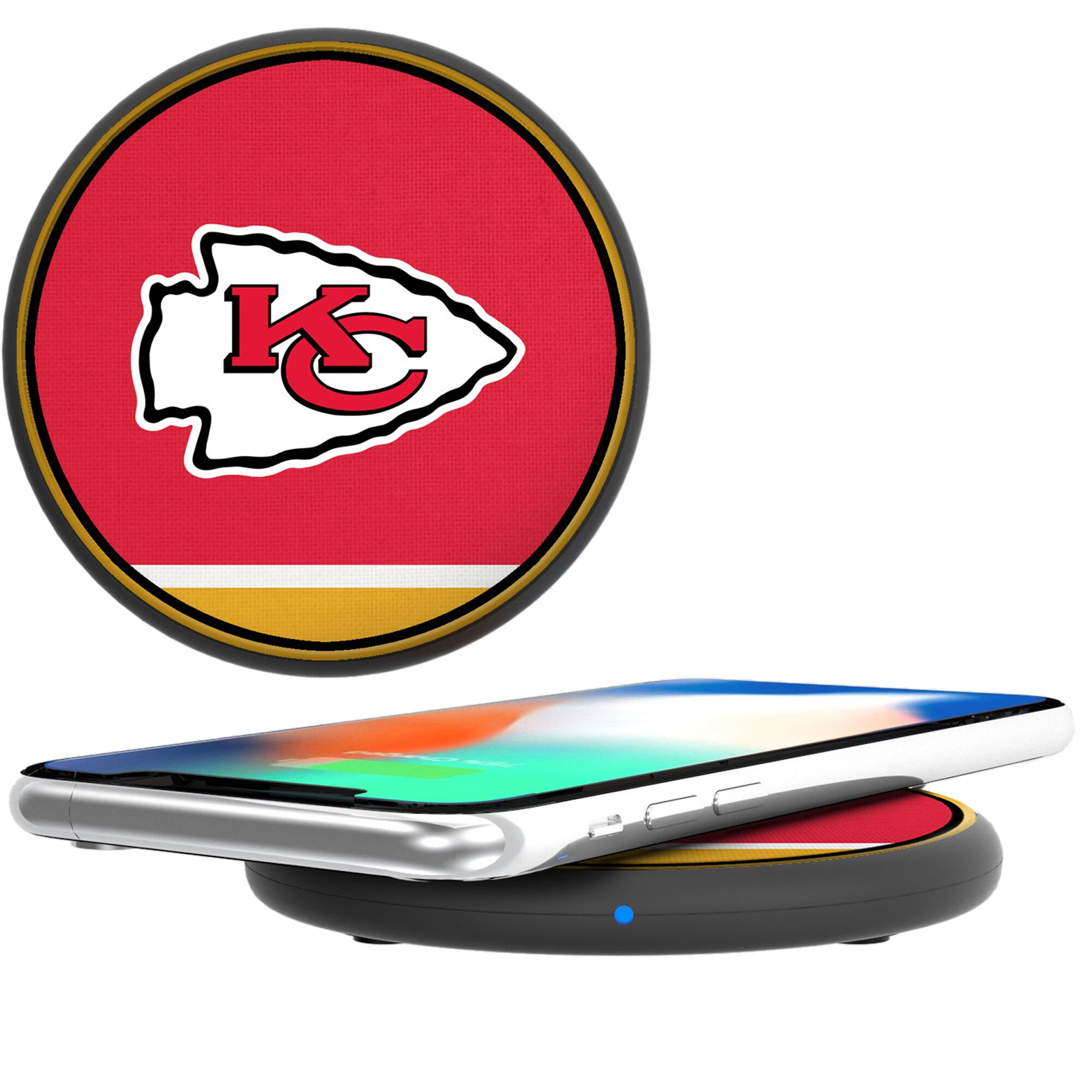 Kansas City Chiefs Wireless Phone Charger