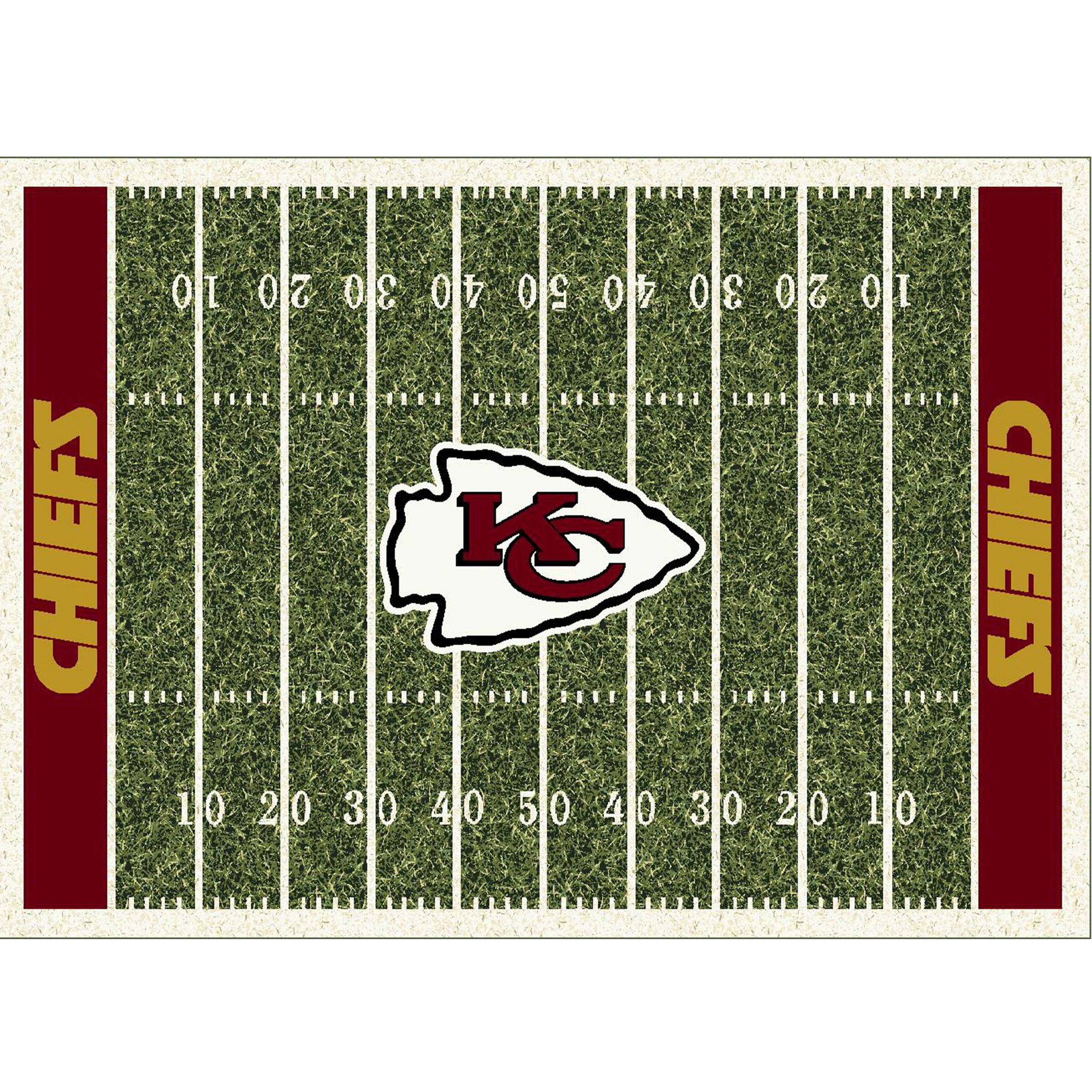 Kansas City Chiefs Imperial 4' x 6' Homefield Rug