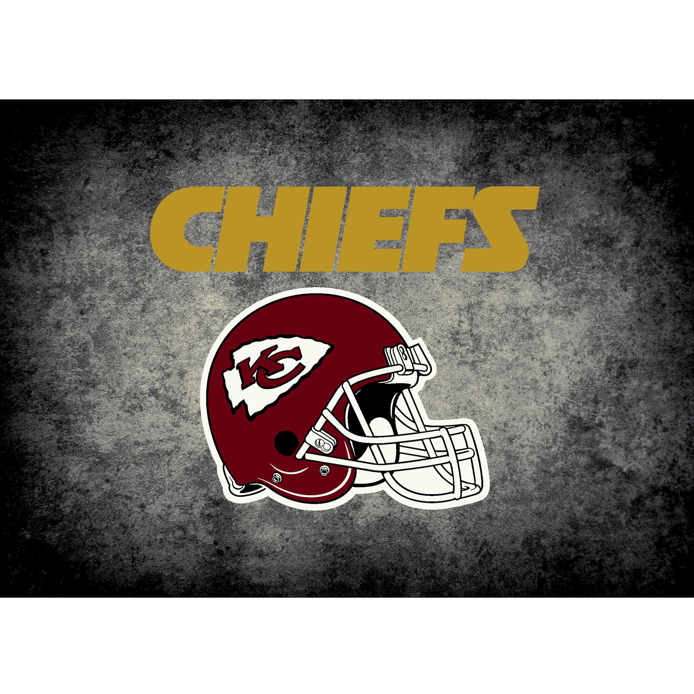 Kansas City Chiefs Imperial 6' x 8' Distressed Rug