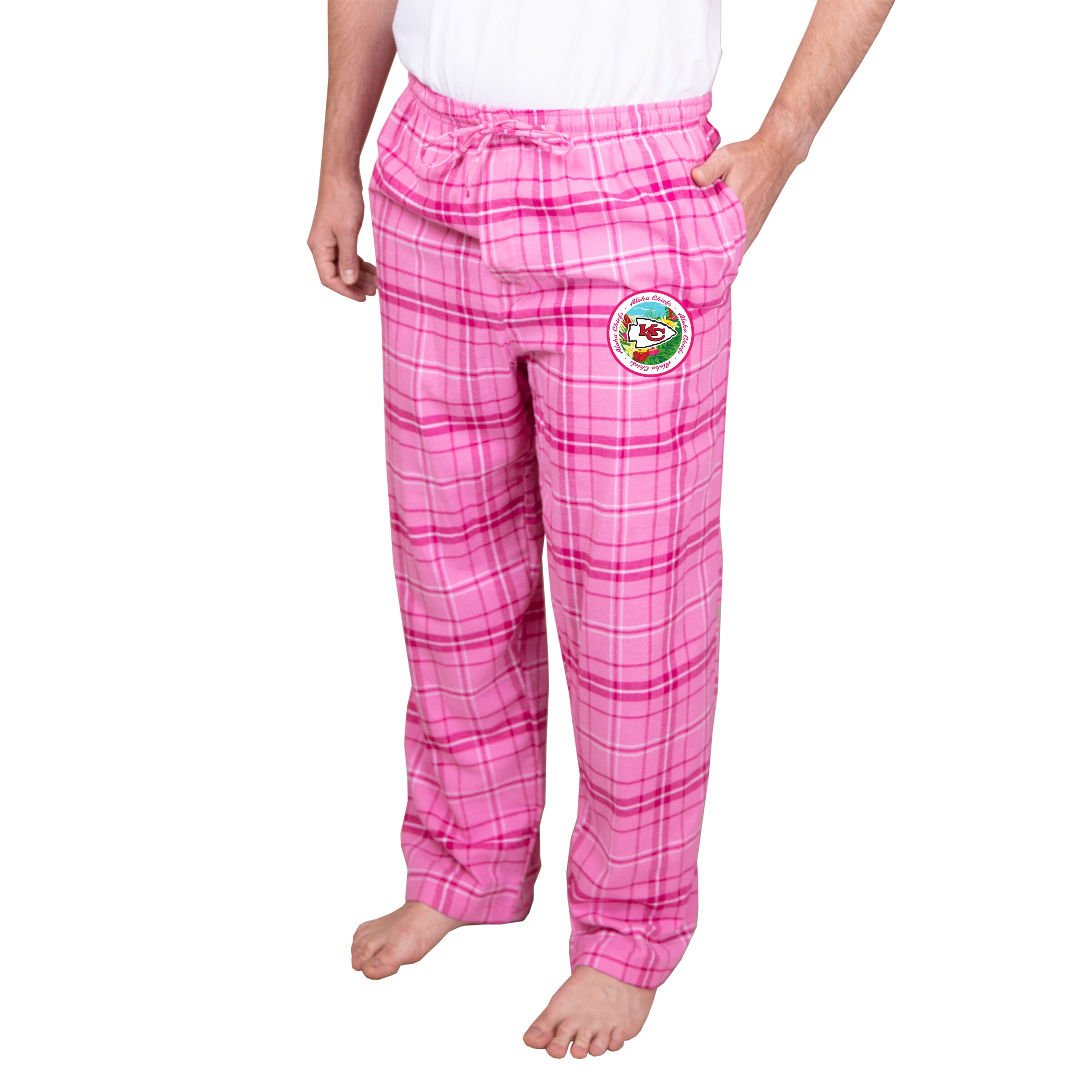 Kansas City Chiefs Concepts Sport Ultimate Pants - Pink